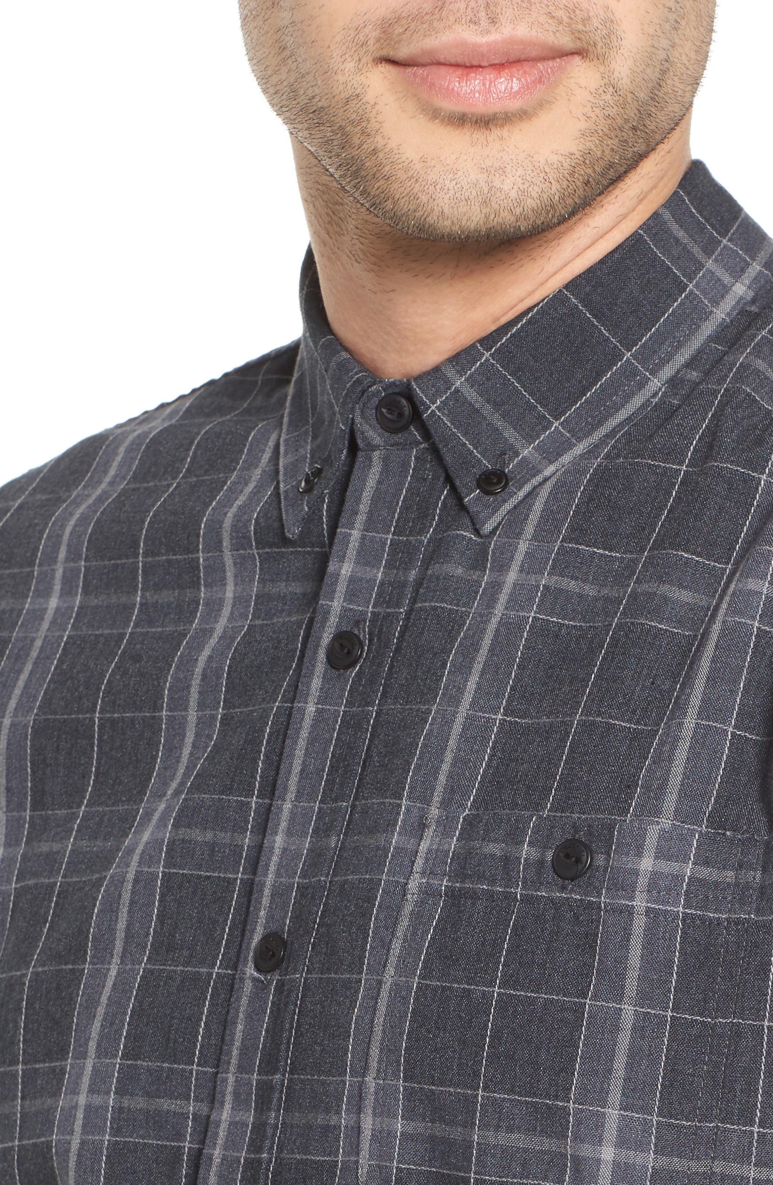 Alternate Image 4  - Ezekiel Plaid Woven Shirt