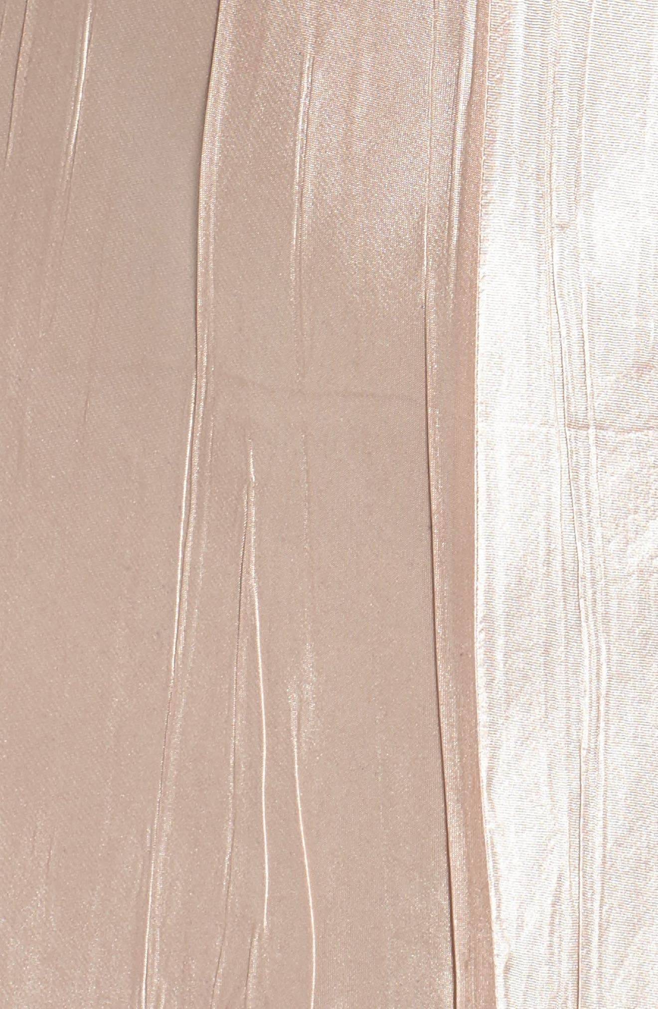 Alternate Image 5  - Komarov Embellished Midi Dress & Cascade Jacket (Regular & Petite)
