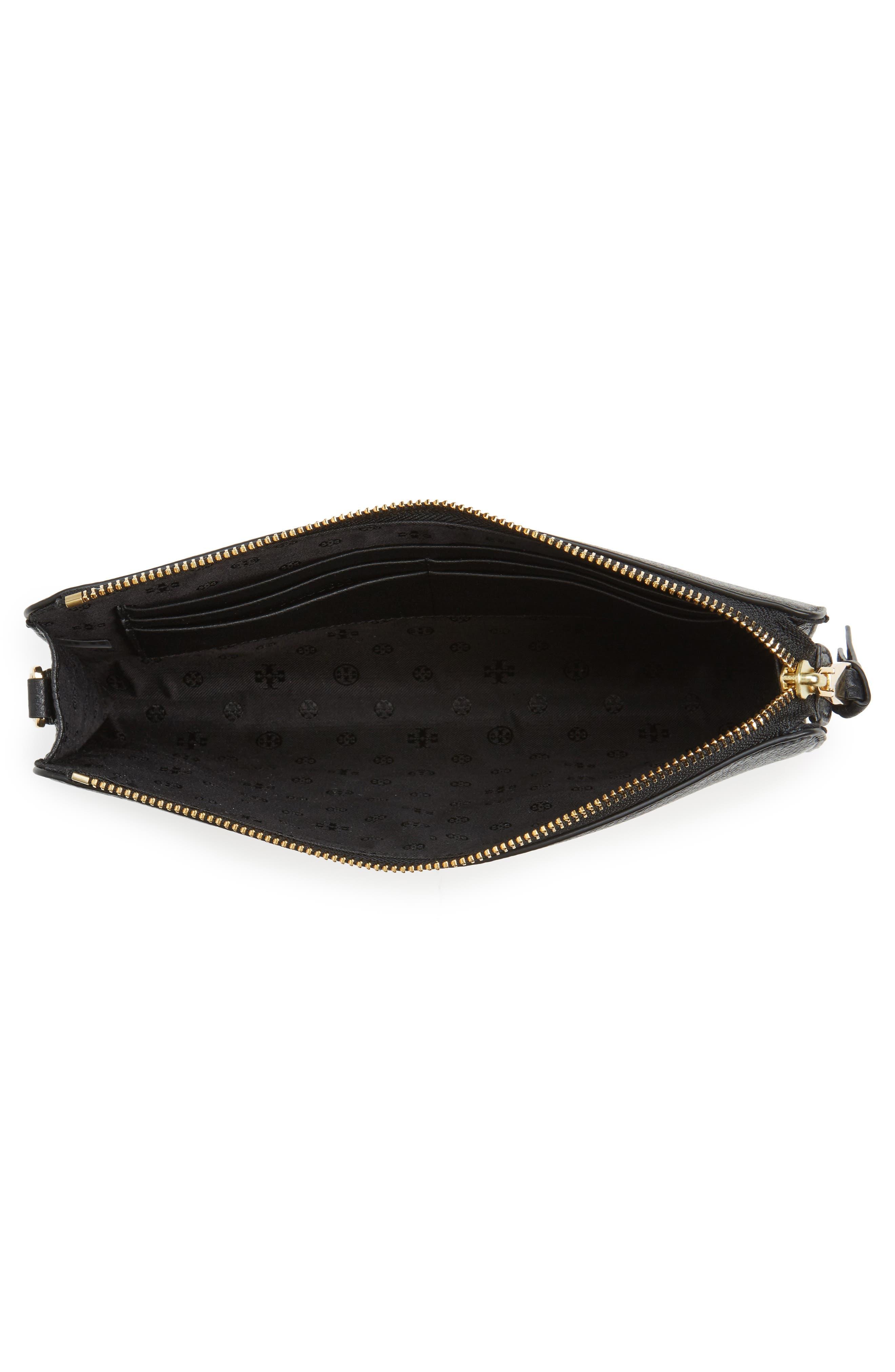 Alternate Image 4  - Tory Burch Robinson Leather Wallet/Crossbody Bag