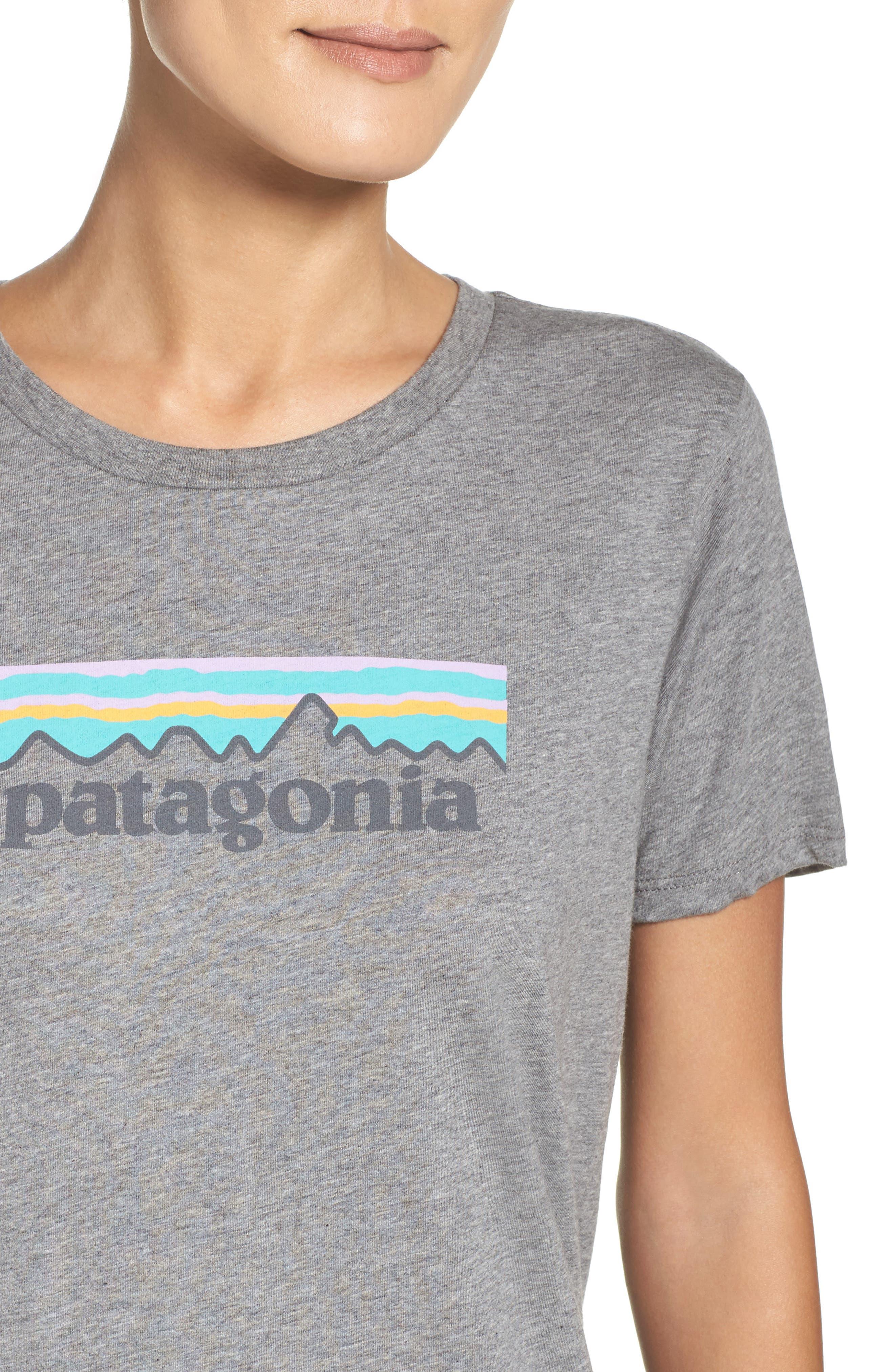Alternate Image 4  - Patagonia P-6 Organic Cotton Tee
