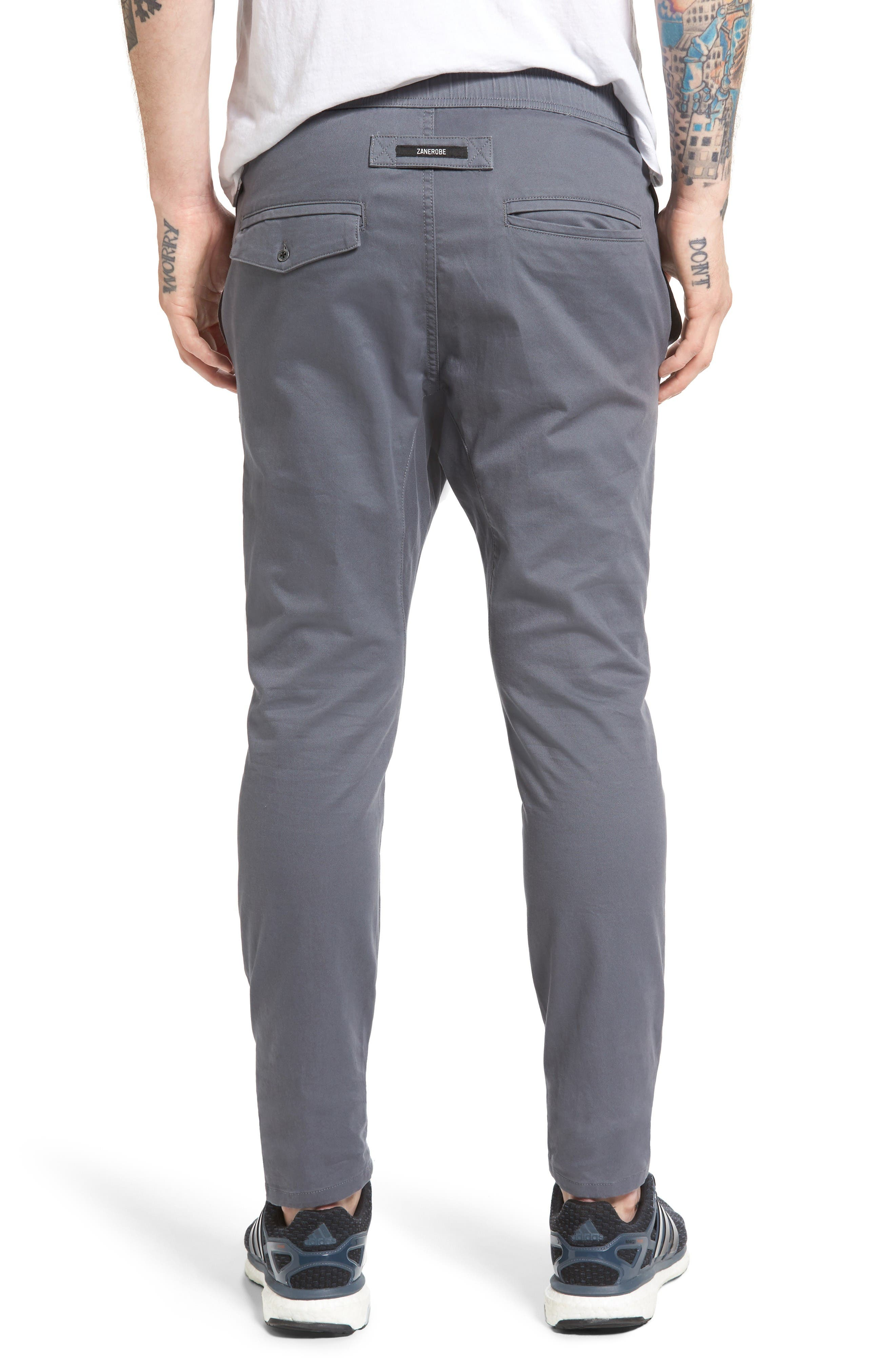 Salerno Stretch Woven Jogger Pants,                             Alternate thumbnail 2, color,                             Grey