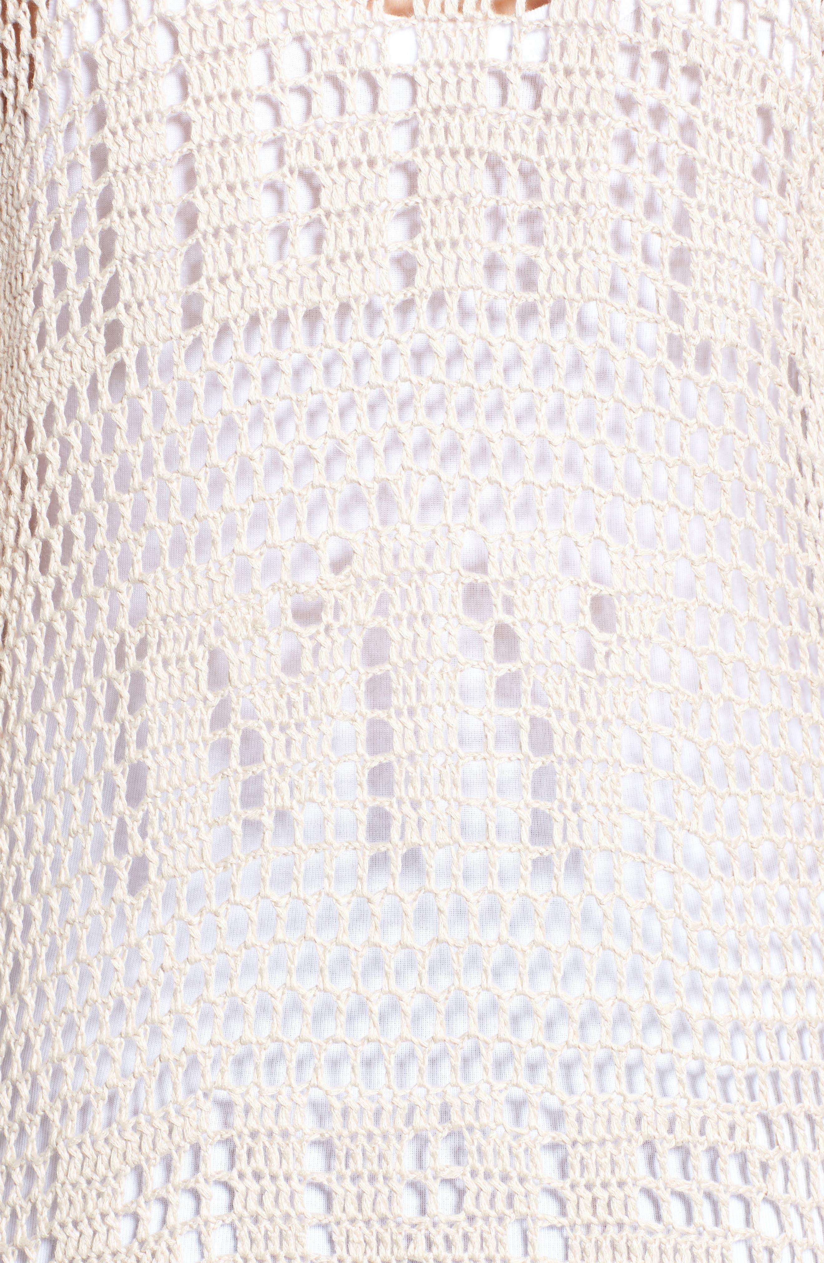Alternate Image 5  - Somedays Lovin Crochet Kimono