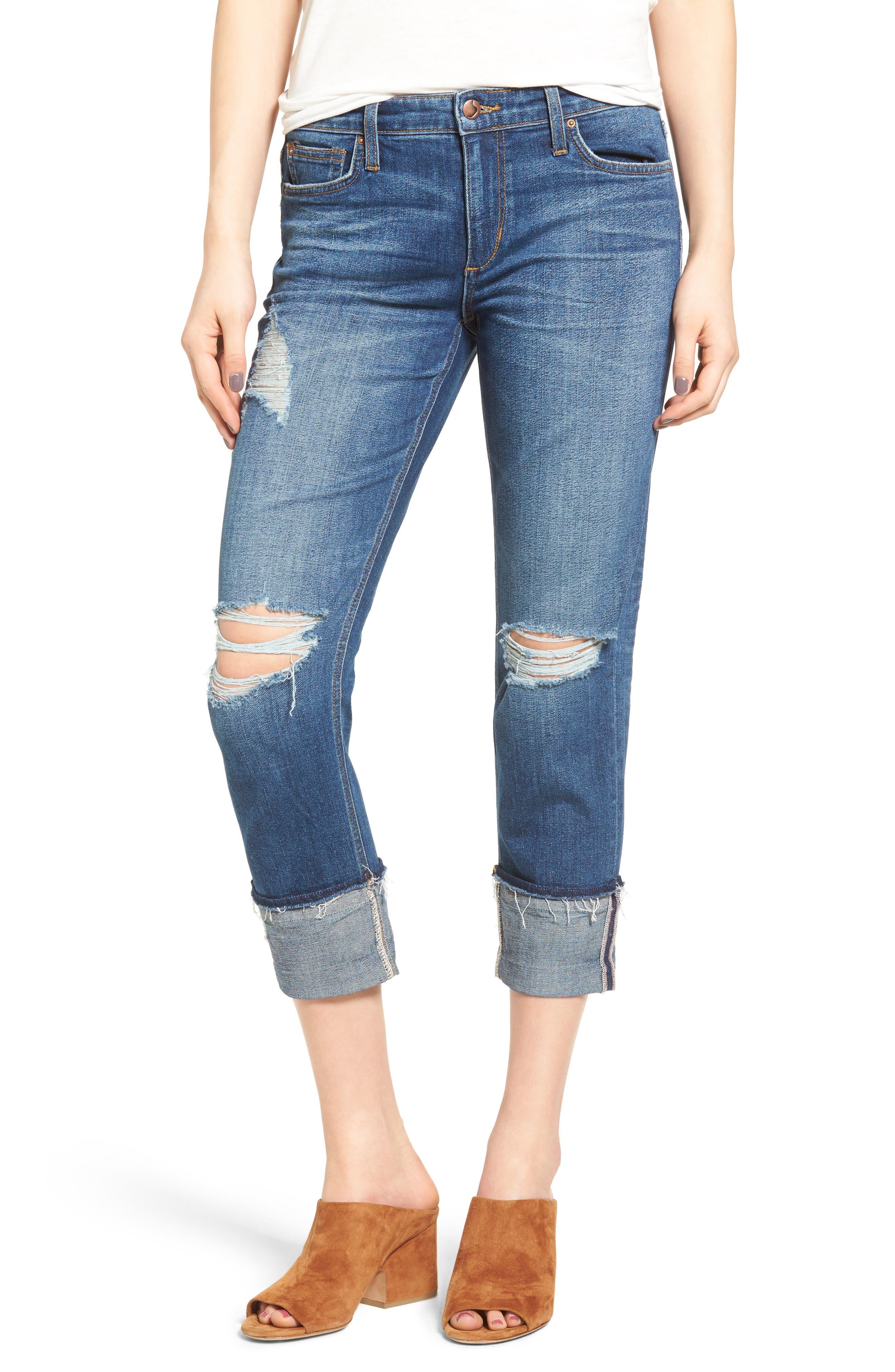 Joe's Ex-Lover Markie Crop Boyfriend Jeans (Ditta)