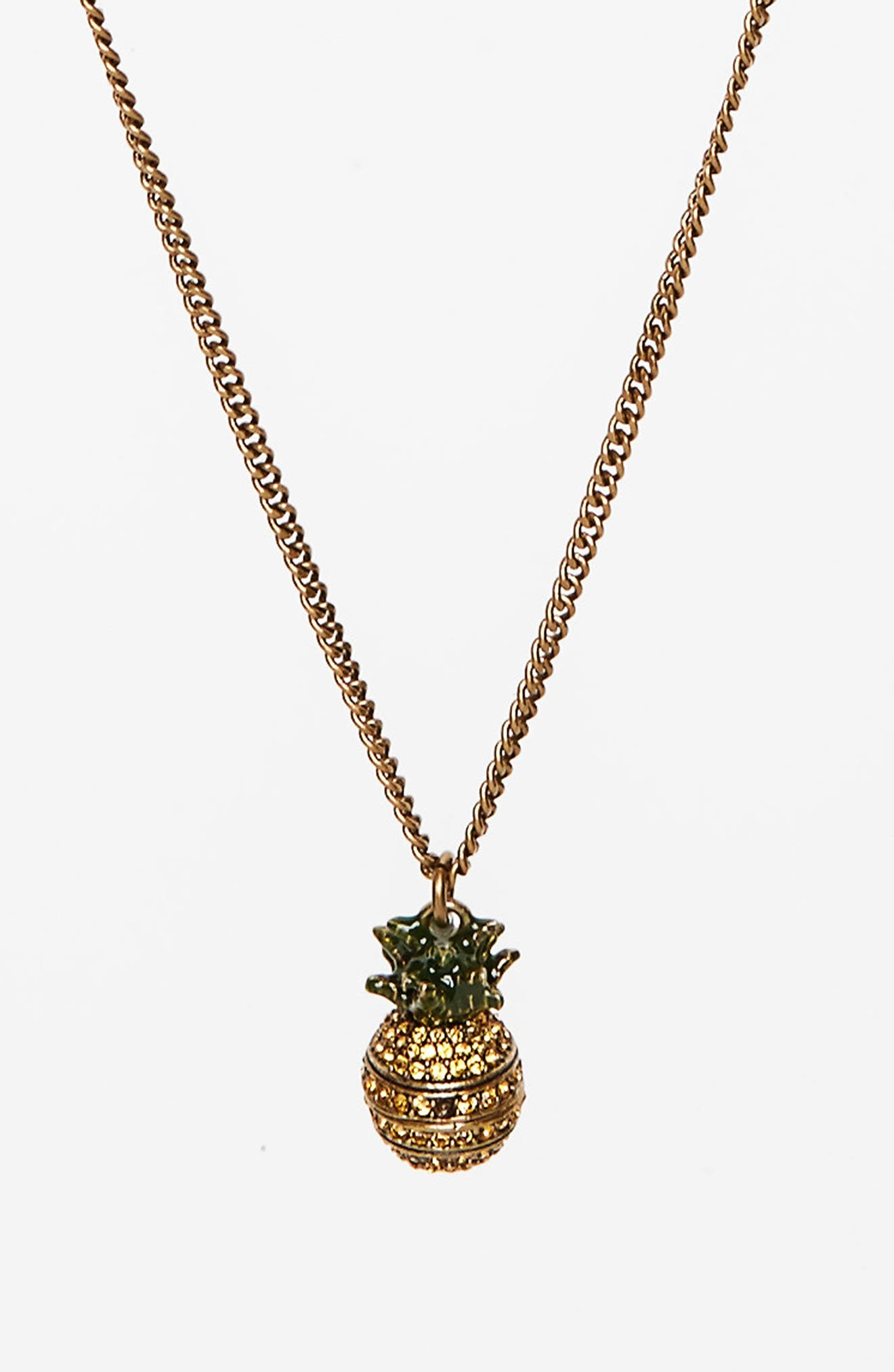 Alternate Image 2  - MARC JACOBS Pineapple Layer Necklace