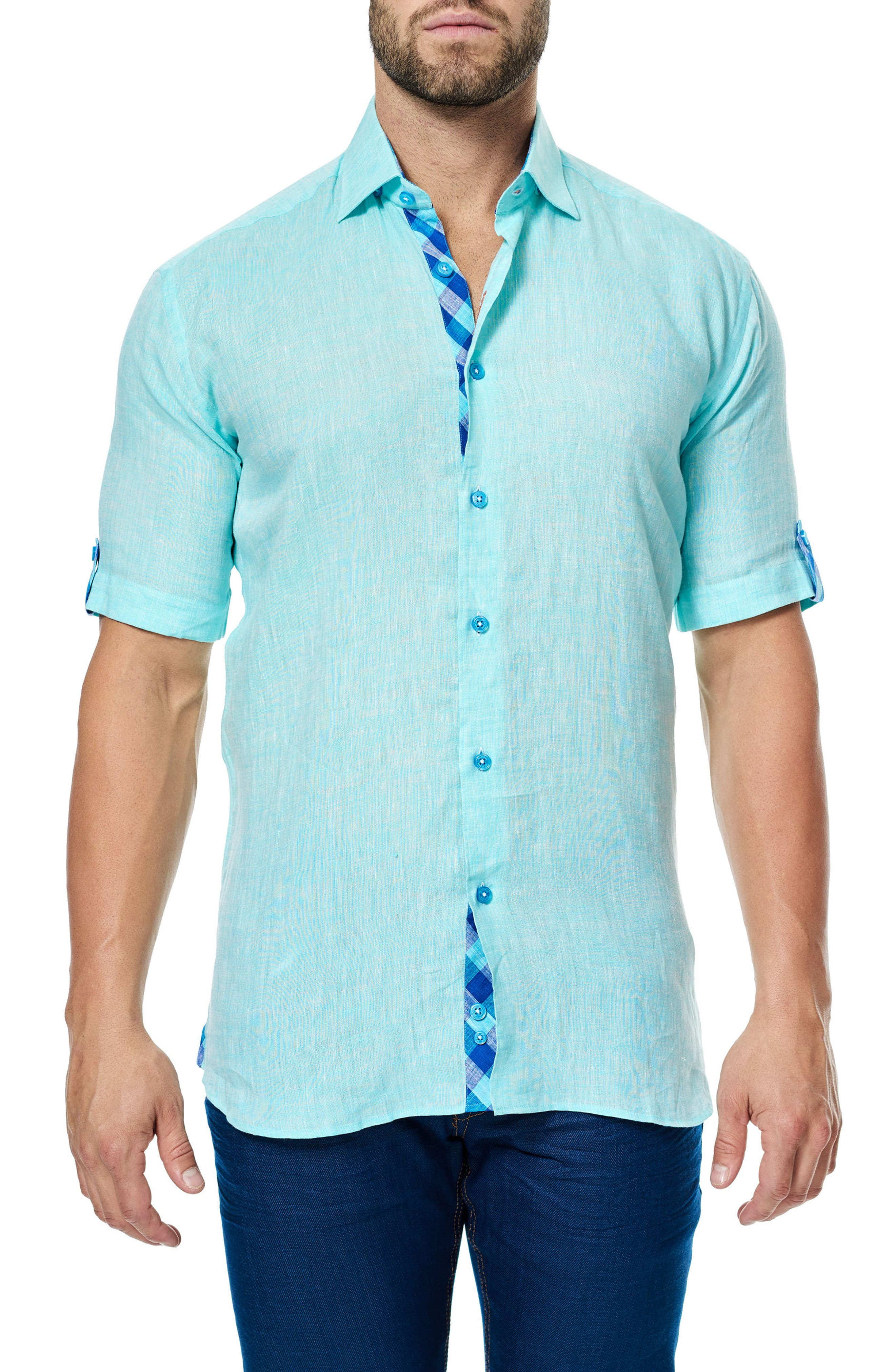 Alternate Image 1 Selected - Maceoo Fresh Sport Shirt