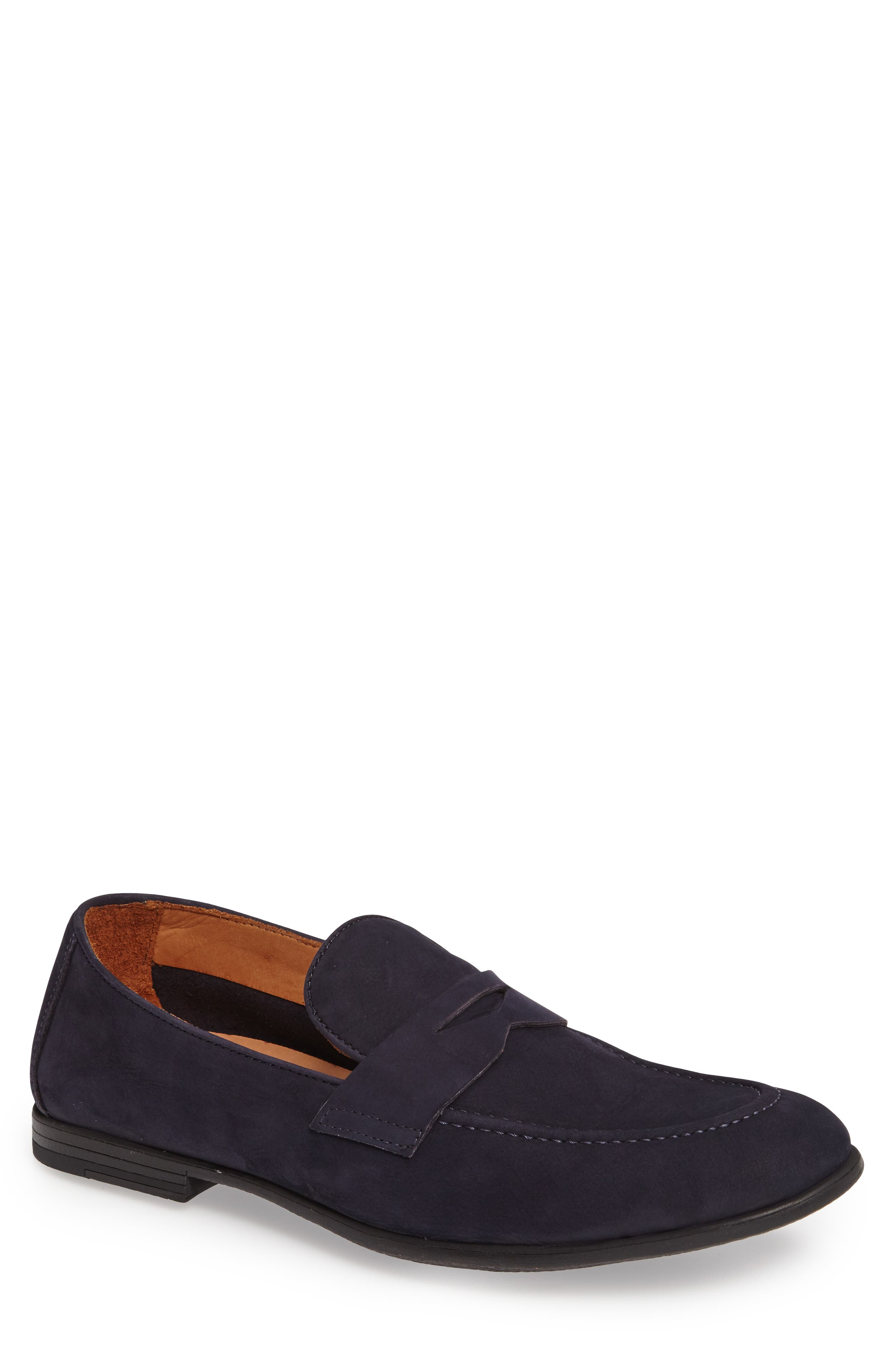 Dillon Penny Loafer,                             Main thumbnail 1, color,                             Marino Leather