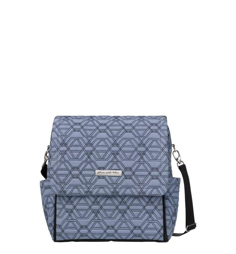 petunia pickle bottom 39 embossed boxy 39 backpack diaper bag. Black Bedroom Furniture Sets. Home Design Ideas