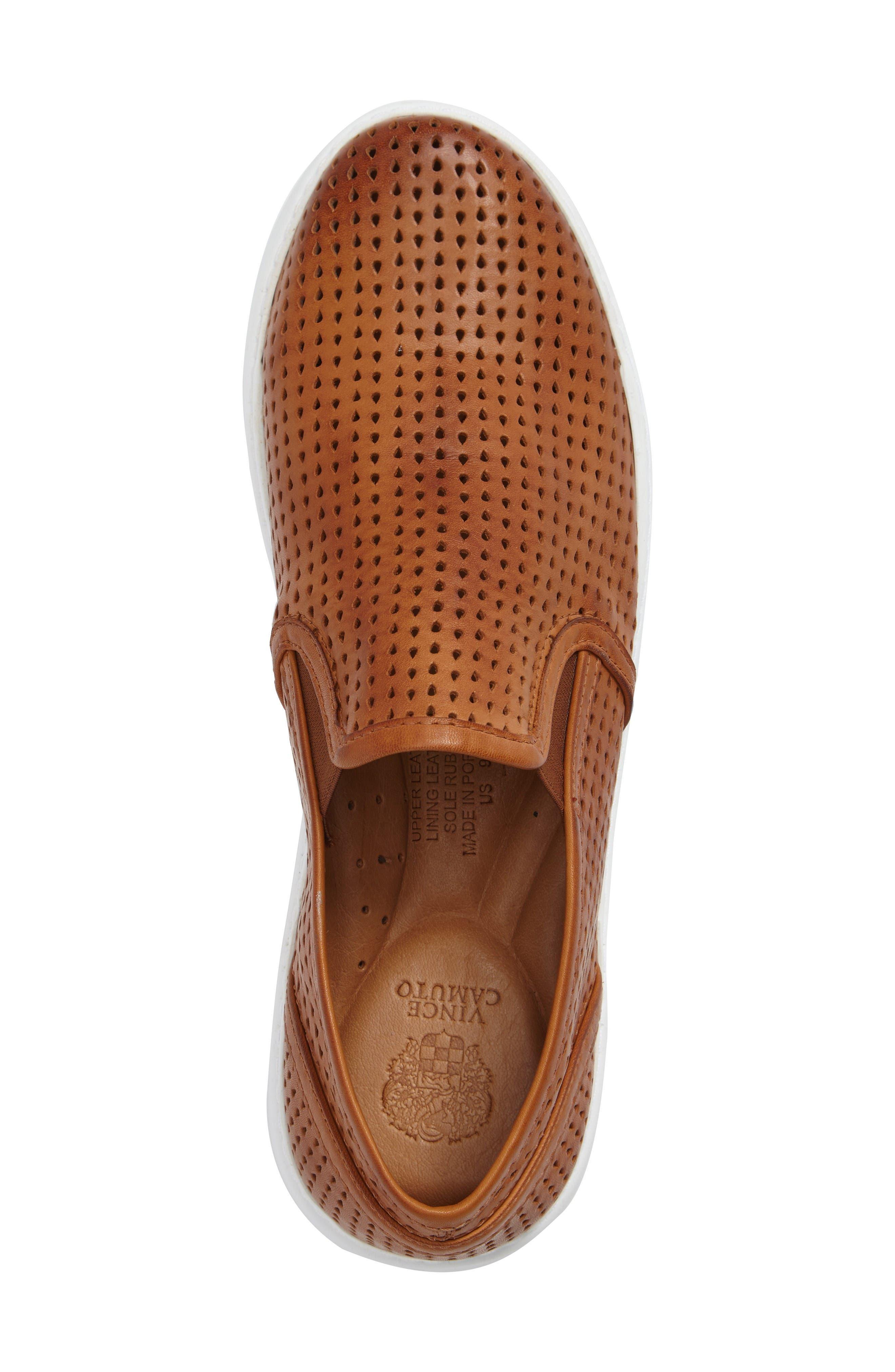 Sebasten Slip-On,                             Alternate thumbnail 3, color,                             Cognac Leather