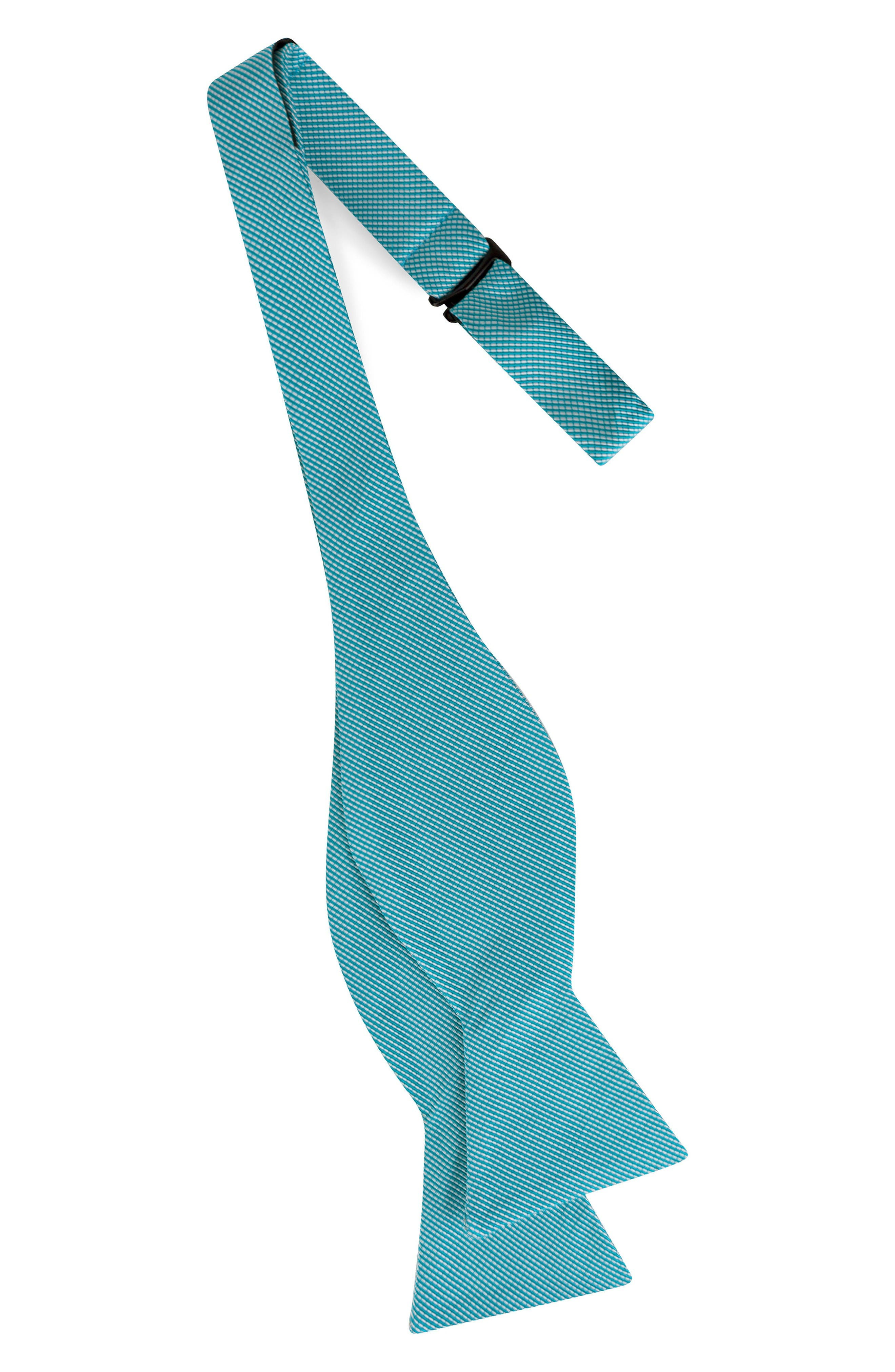 Alternate Image 2  - Ted Baker London Mogador Stripe Silk & Cotton Bow Tie