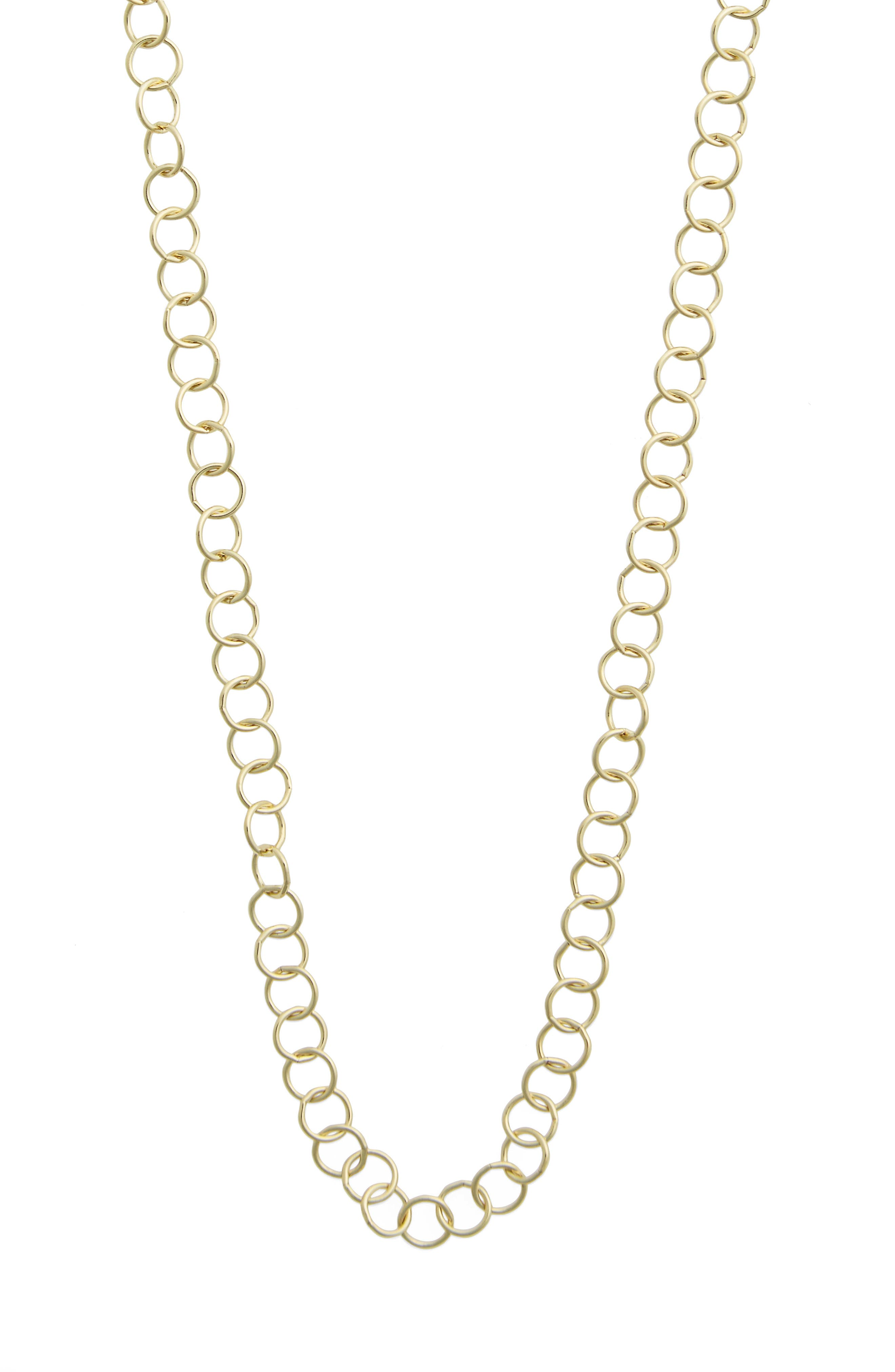 Alternate Image 3  - Temple St. Clair 24-Inch Round Chain Necklace