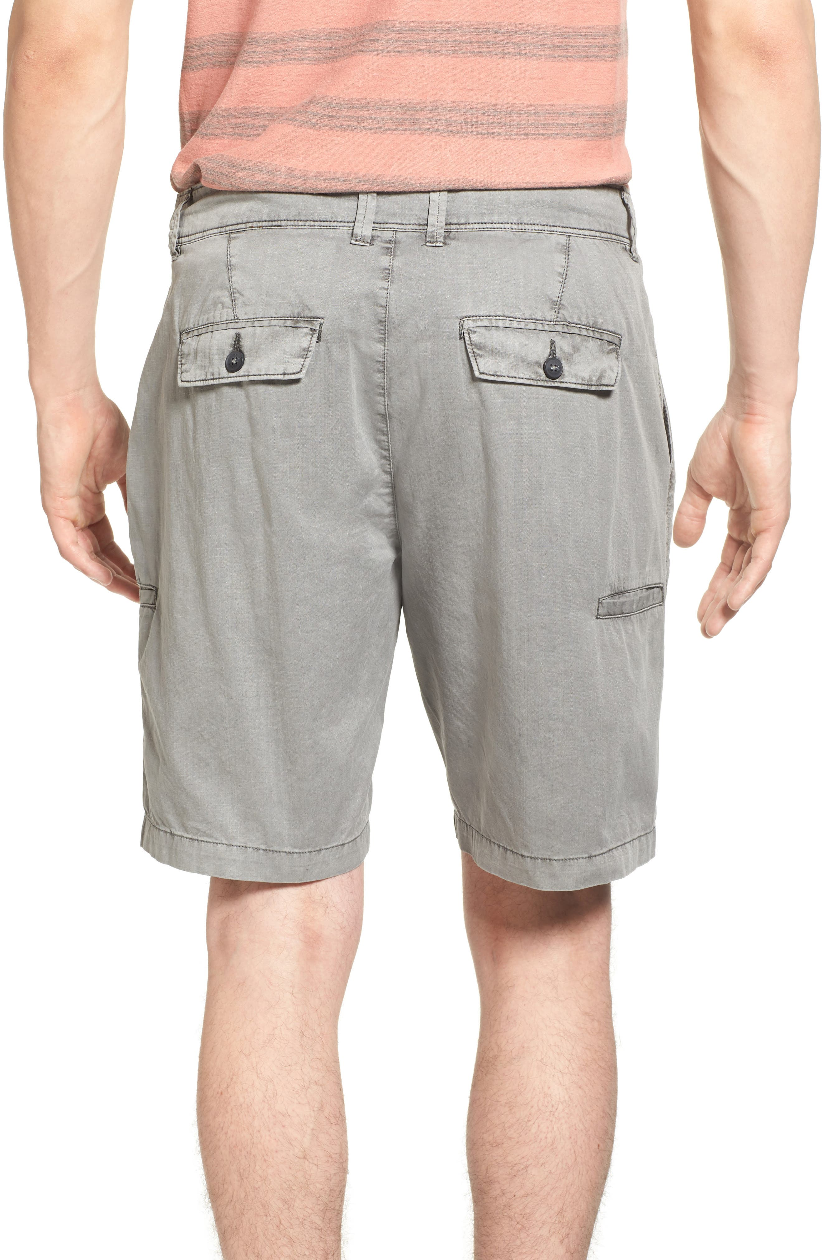 Alternate Image 2  - Jeremiah Merrill Pigment Slub Poplin Shorts