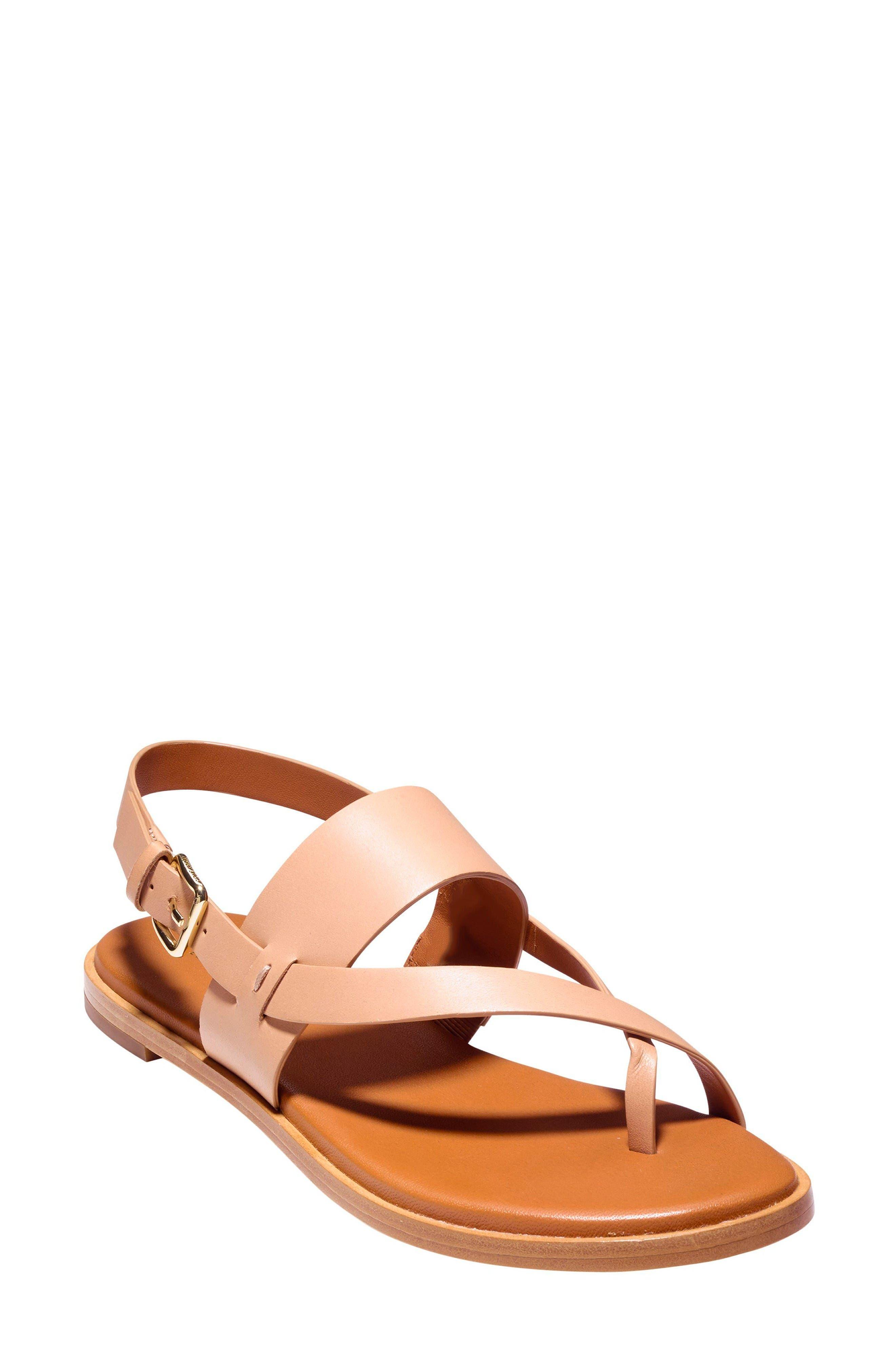 Anica Sandal,                         Main,                         color, Sahara Leather