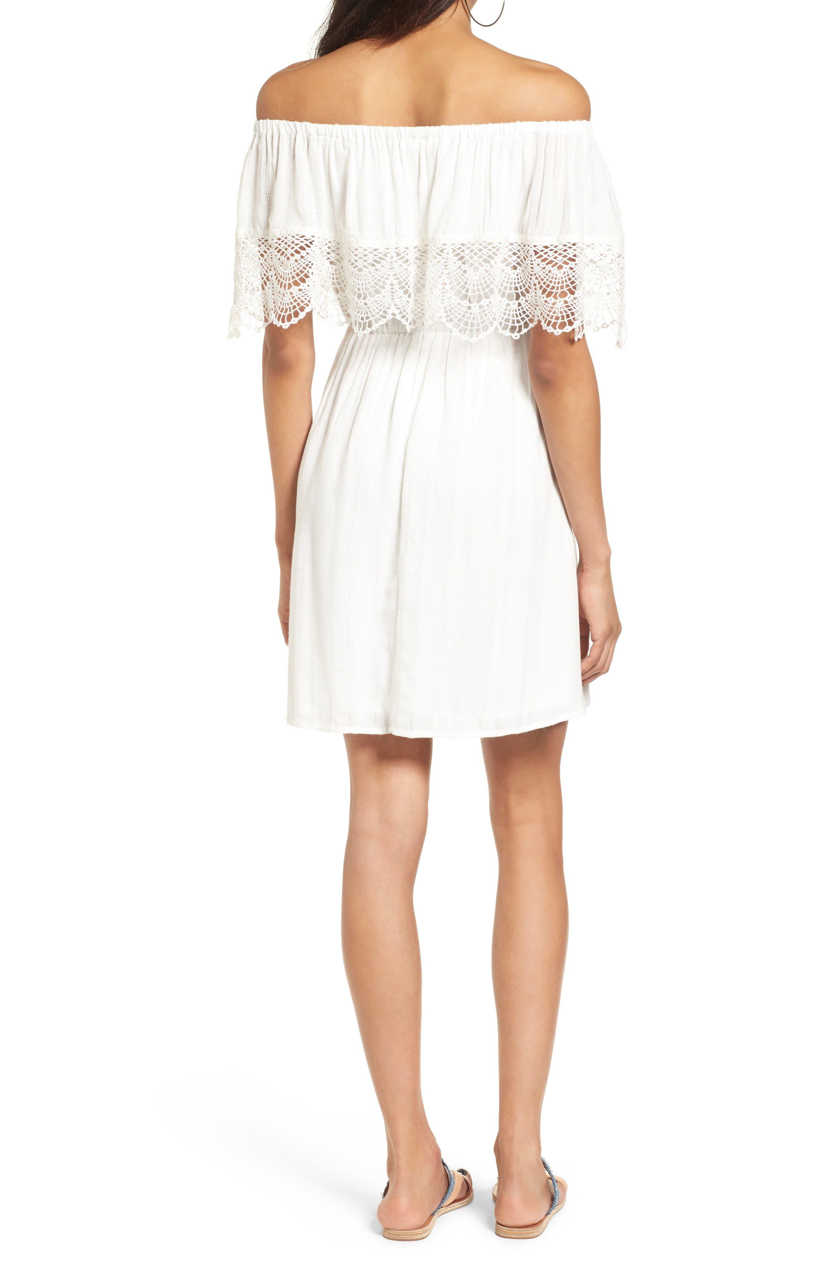 Alternate Image 2  - Off the Shoulder Dress