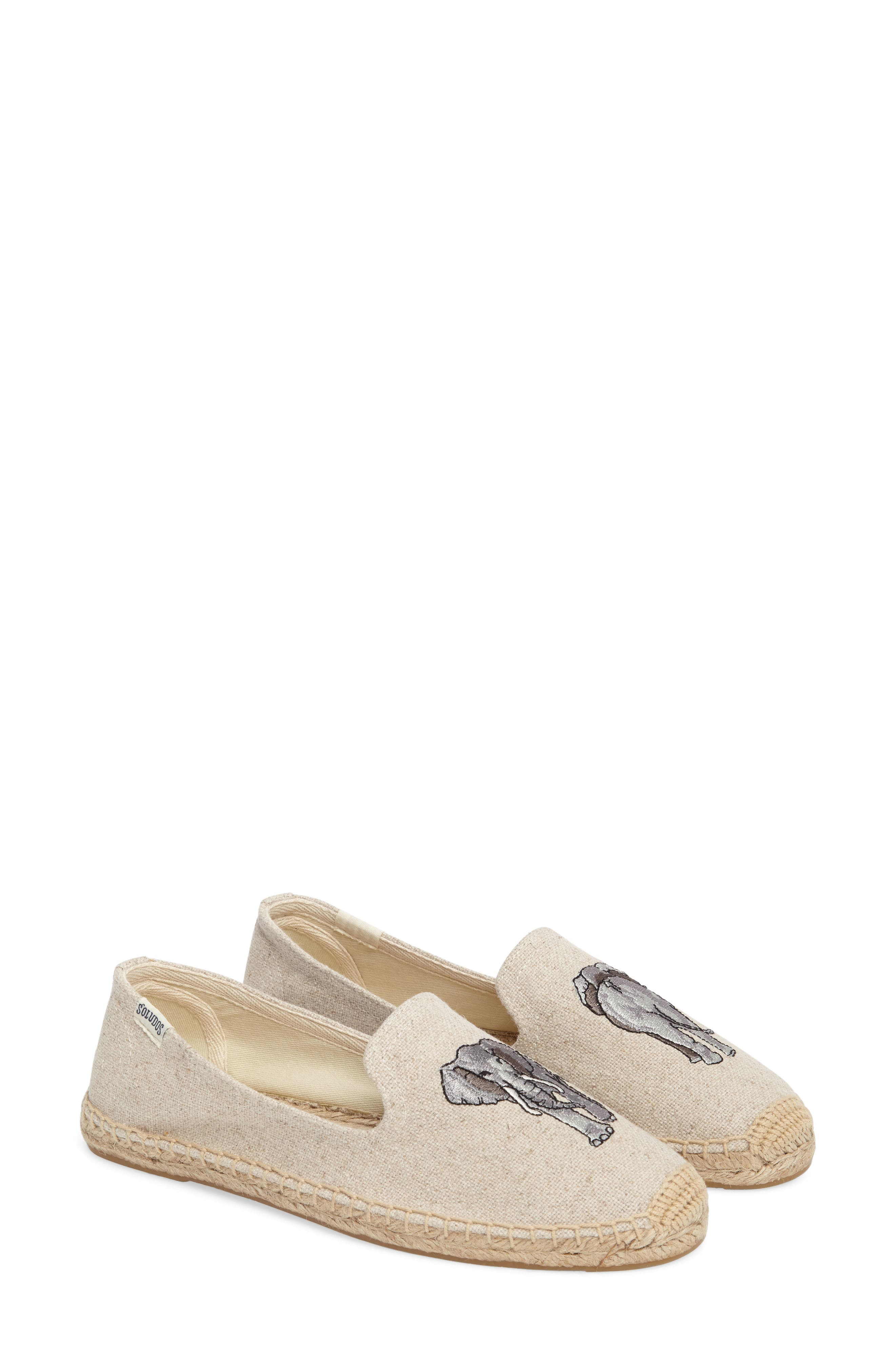 Espadrille Slip-On,                             Alternate thumbnail 2, color,                             Sand Canvas