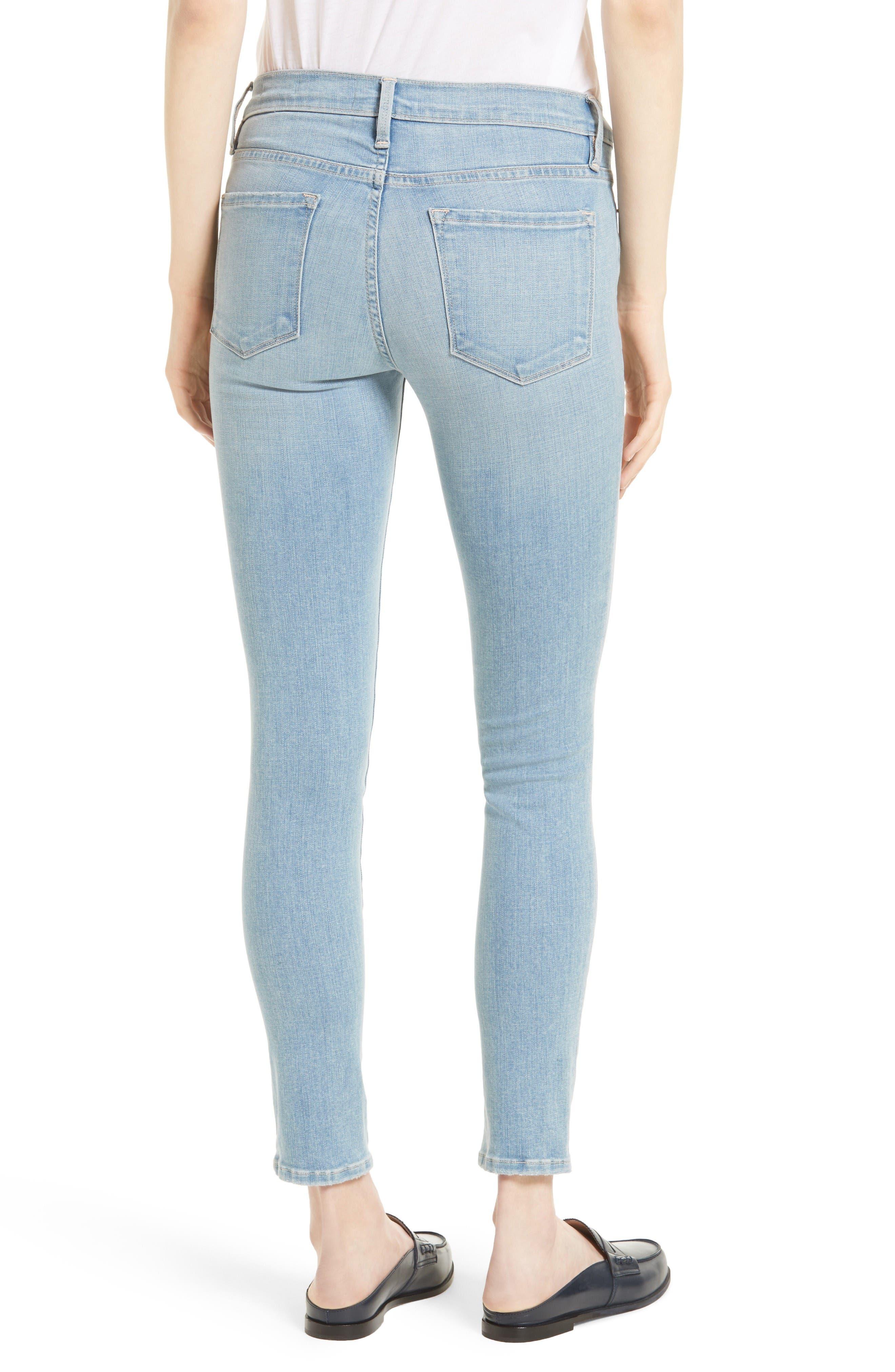 Alternate Image 2  - FRAME 'Le Skinny de Jeanne' Jeans (Antibes)