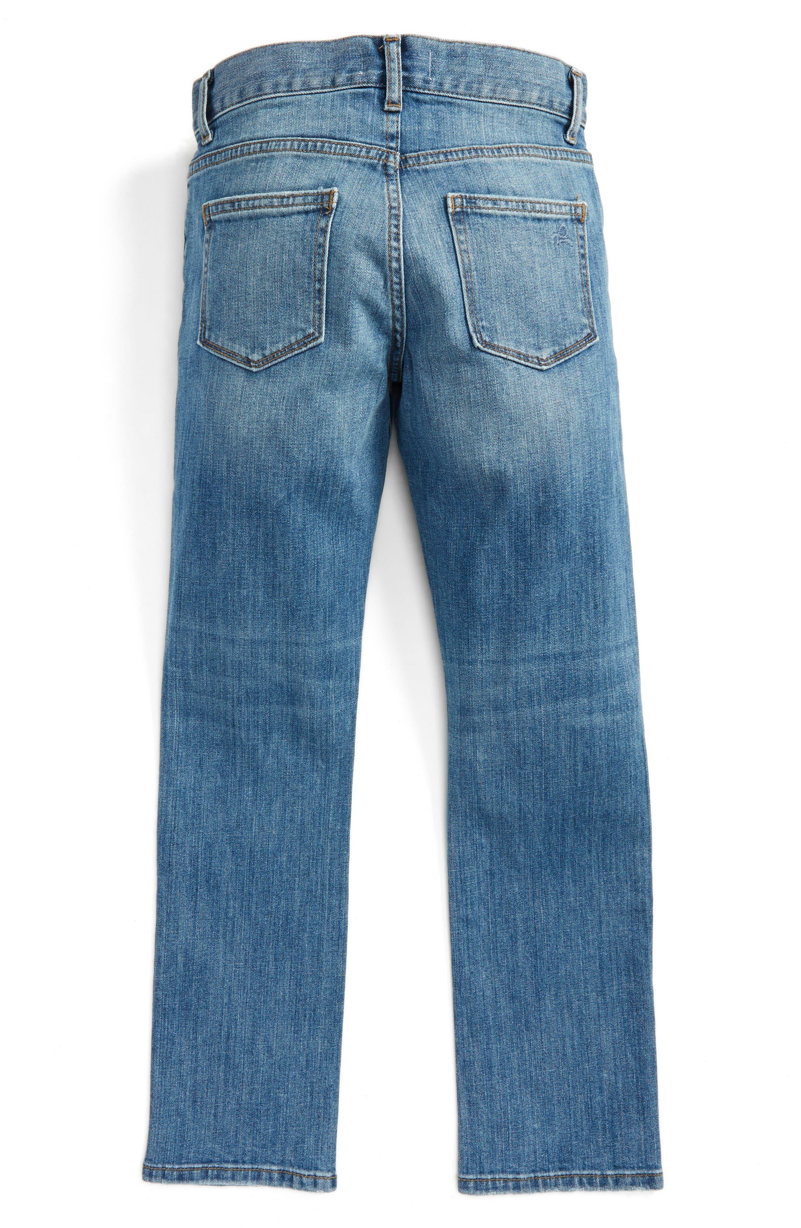 Brady Slim Fit Jeans,                             Alternate thumbnail 3, color,                             Rafter