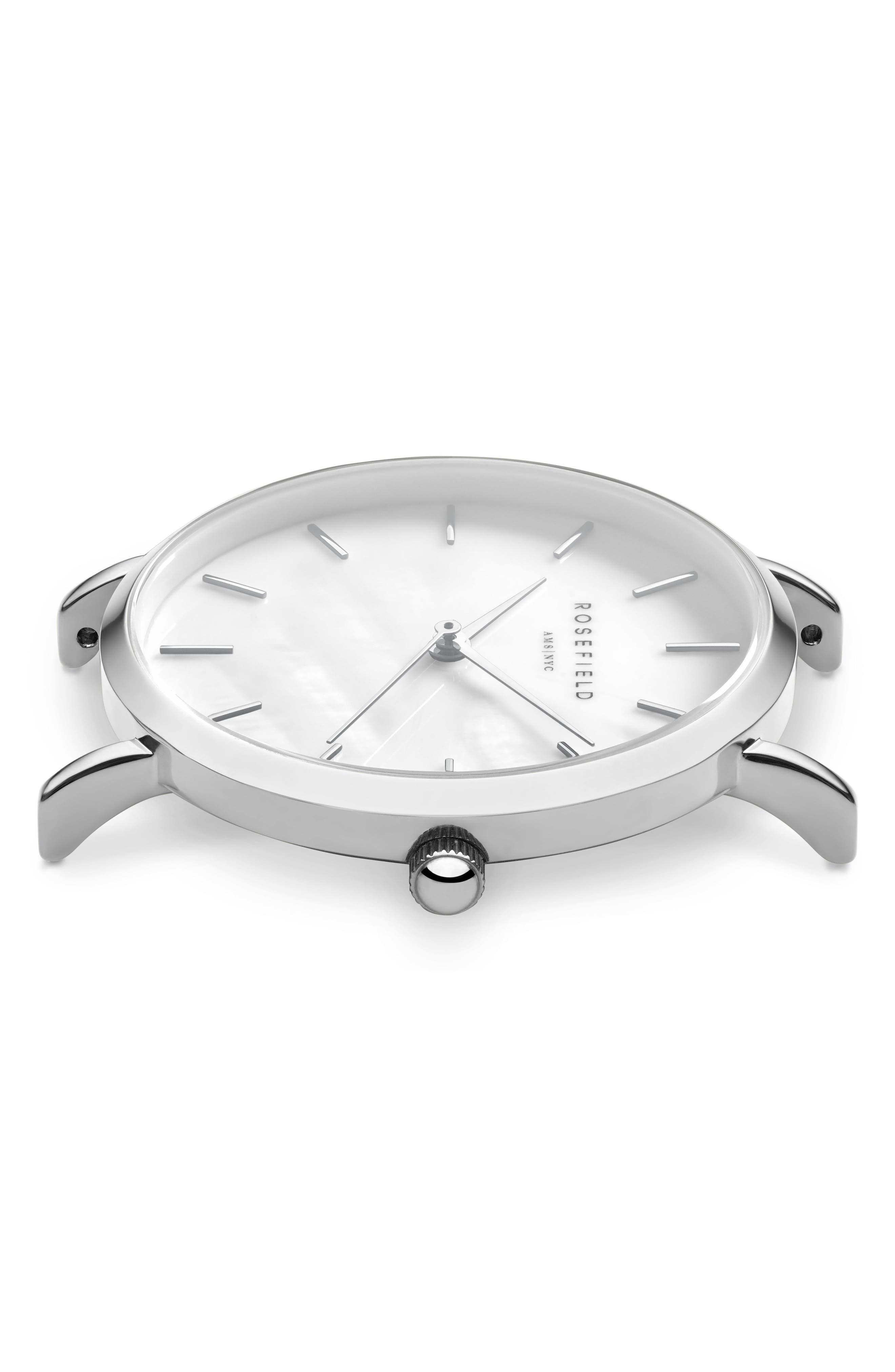 Alternate Image 3  - Rosefield Upper East Side Bracelet Watch, 33mm
