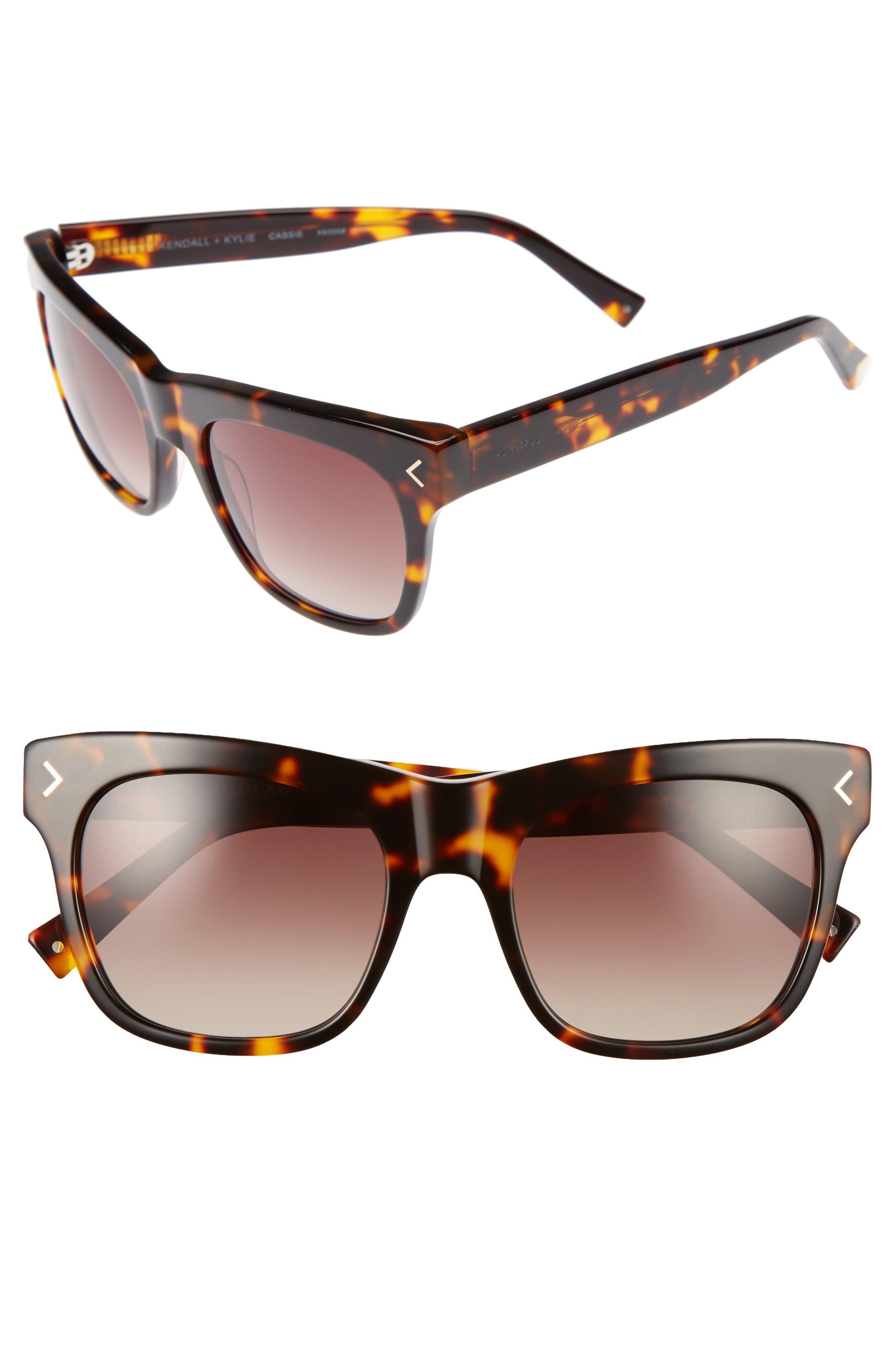KENDALL + KYLIE Cassie 54mm Sunglasses