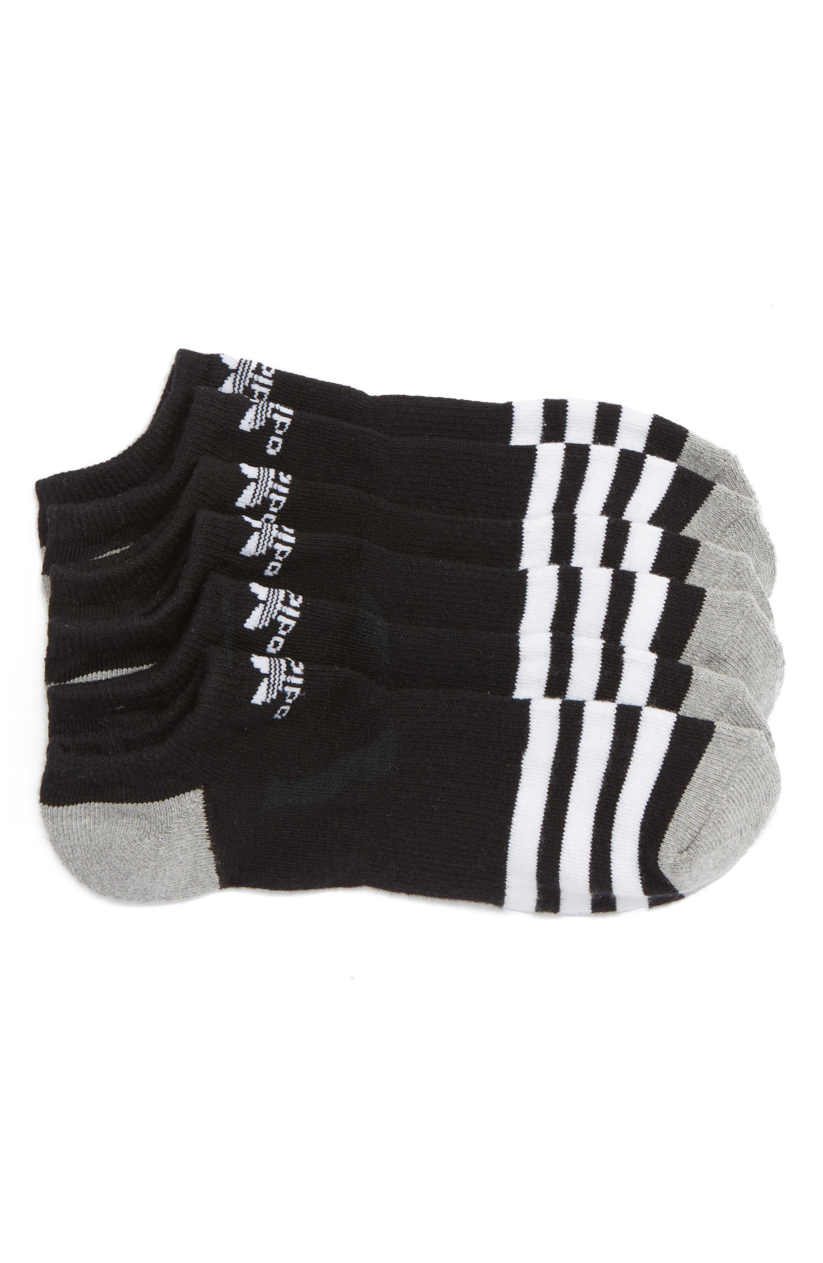 adidas Original Roller 3-Pack No-Show Socks