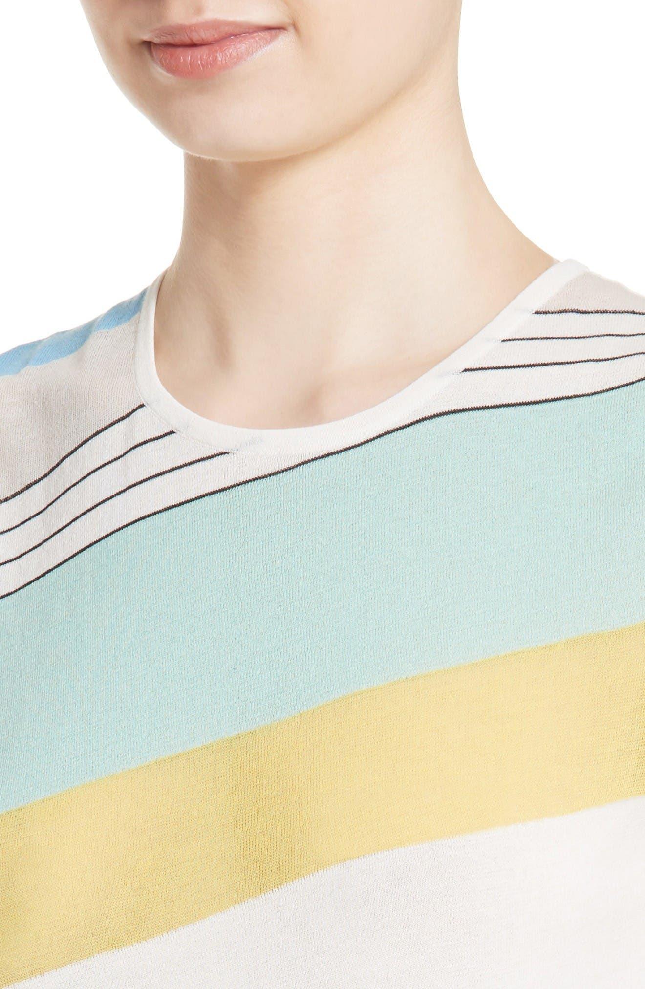 Alternate Image 4  - Diane von Furstenberg Asymmetrical Hem Shell