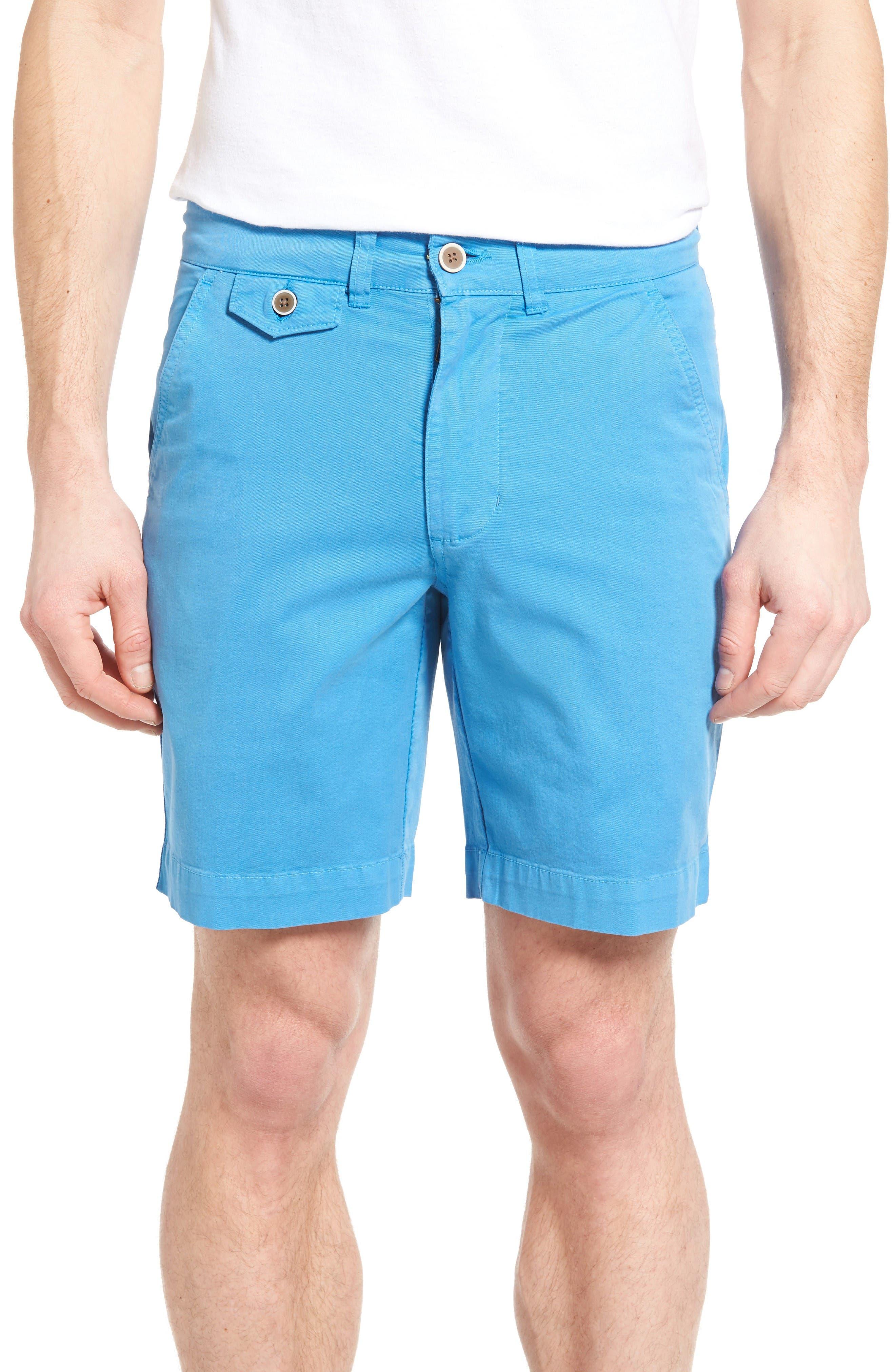 'Sunny' Stretch Chino Shorts,                             Main thumbnail 1, color,                             Hurricane