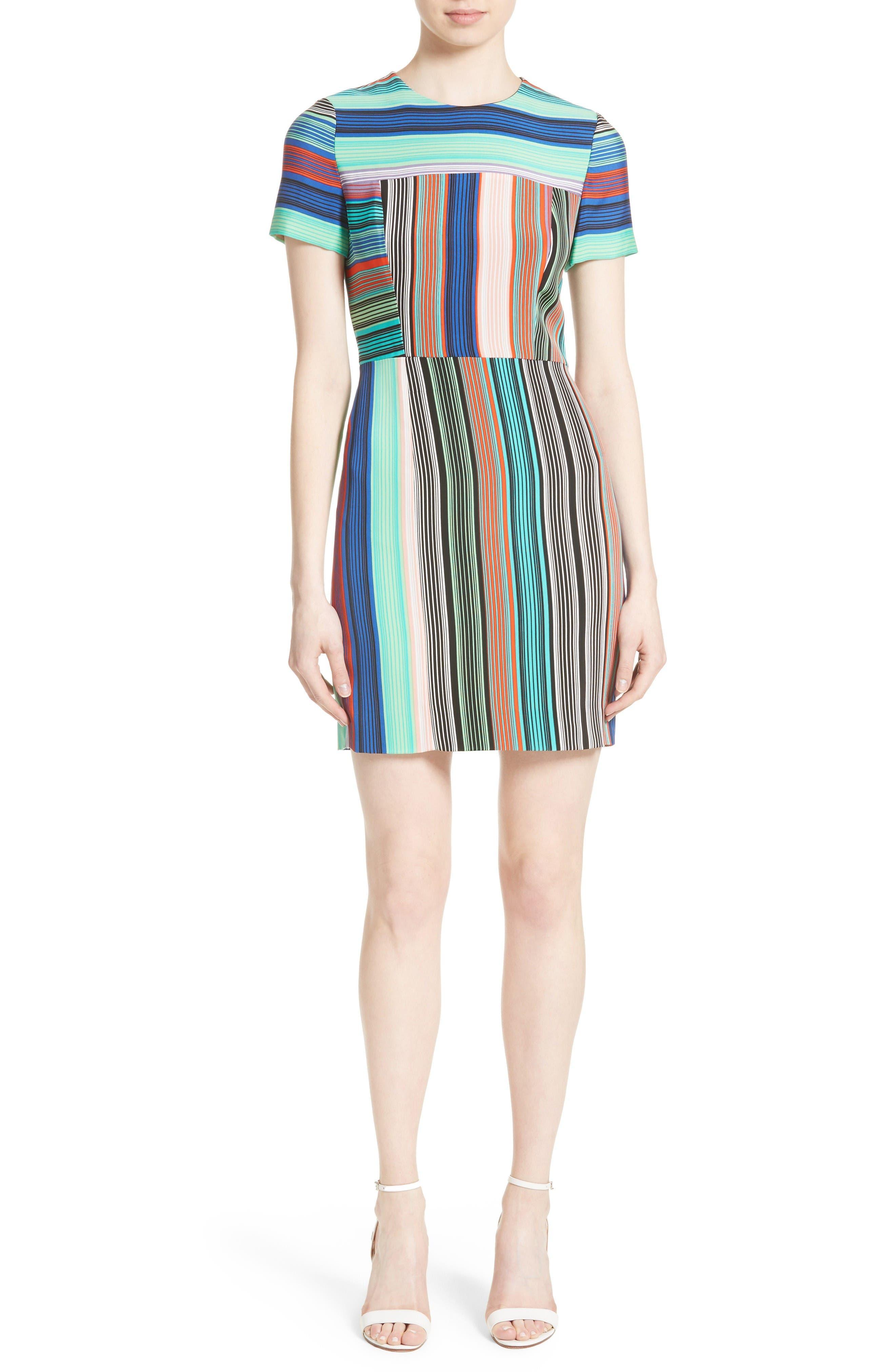 Diane von Furstenberg Stripe Tailored Dress