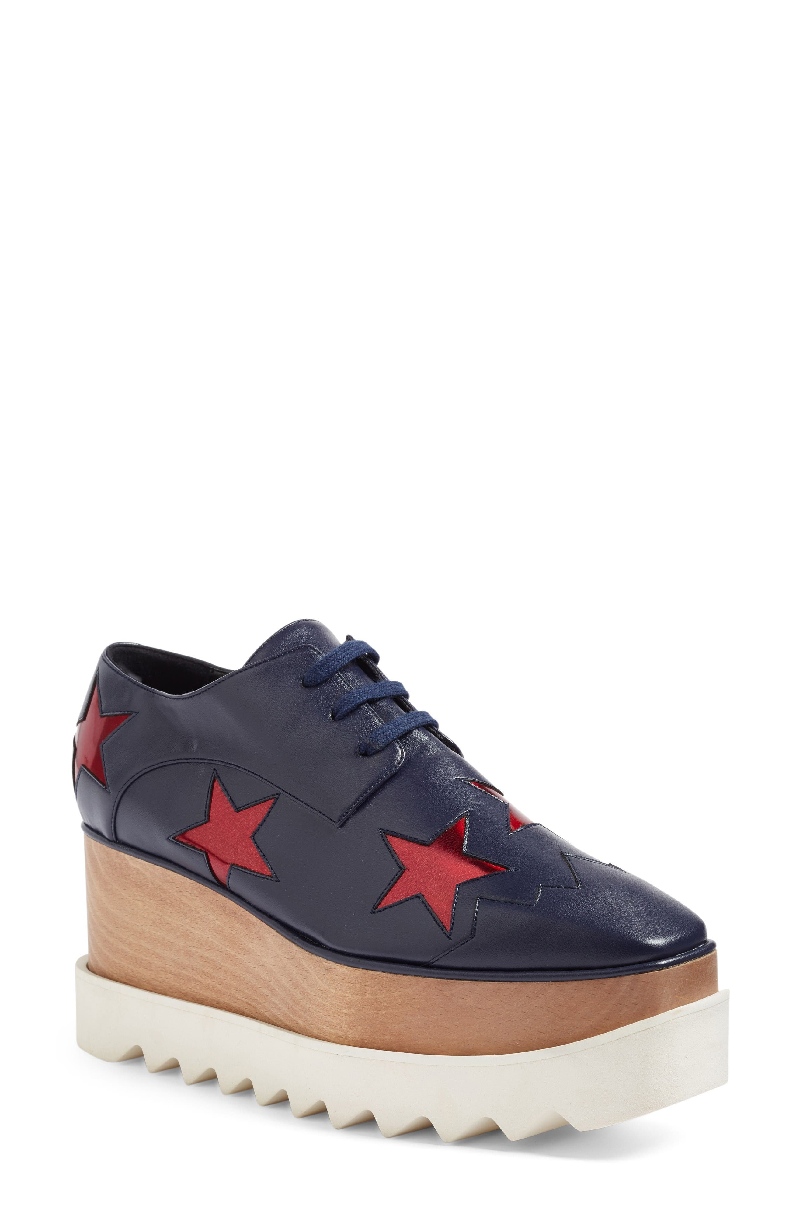 Alternate Image 1 Selected - Stella McCartney Platform Oxford (Women)