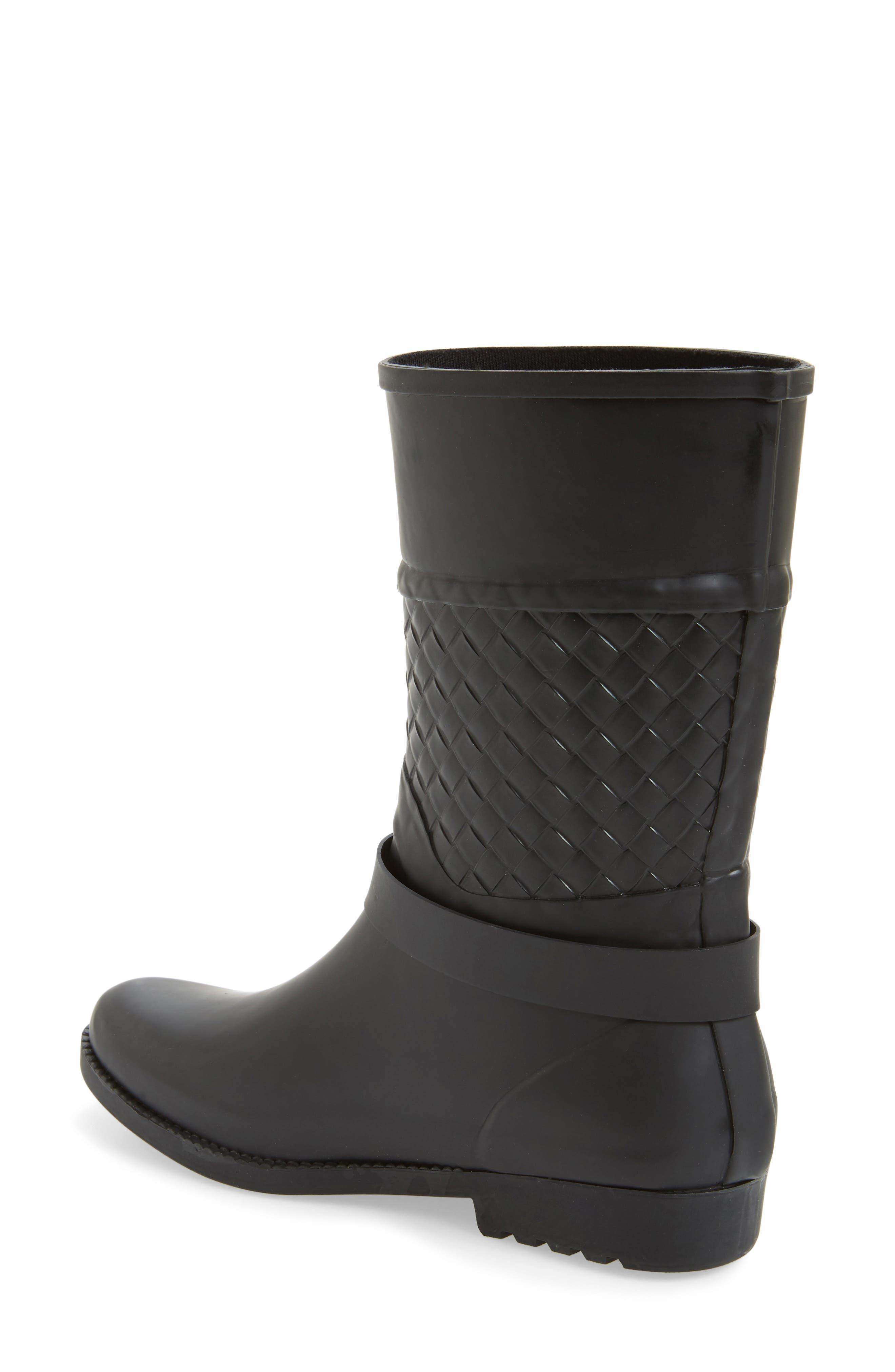 Alternate Image 2  - däv Weston Waterproof Woven Shaft Rain Boot (Women)
