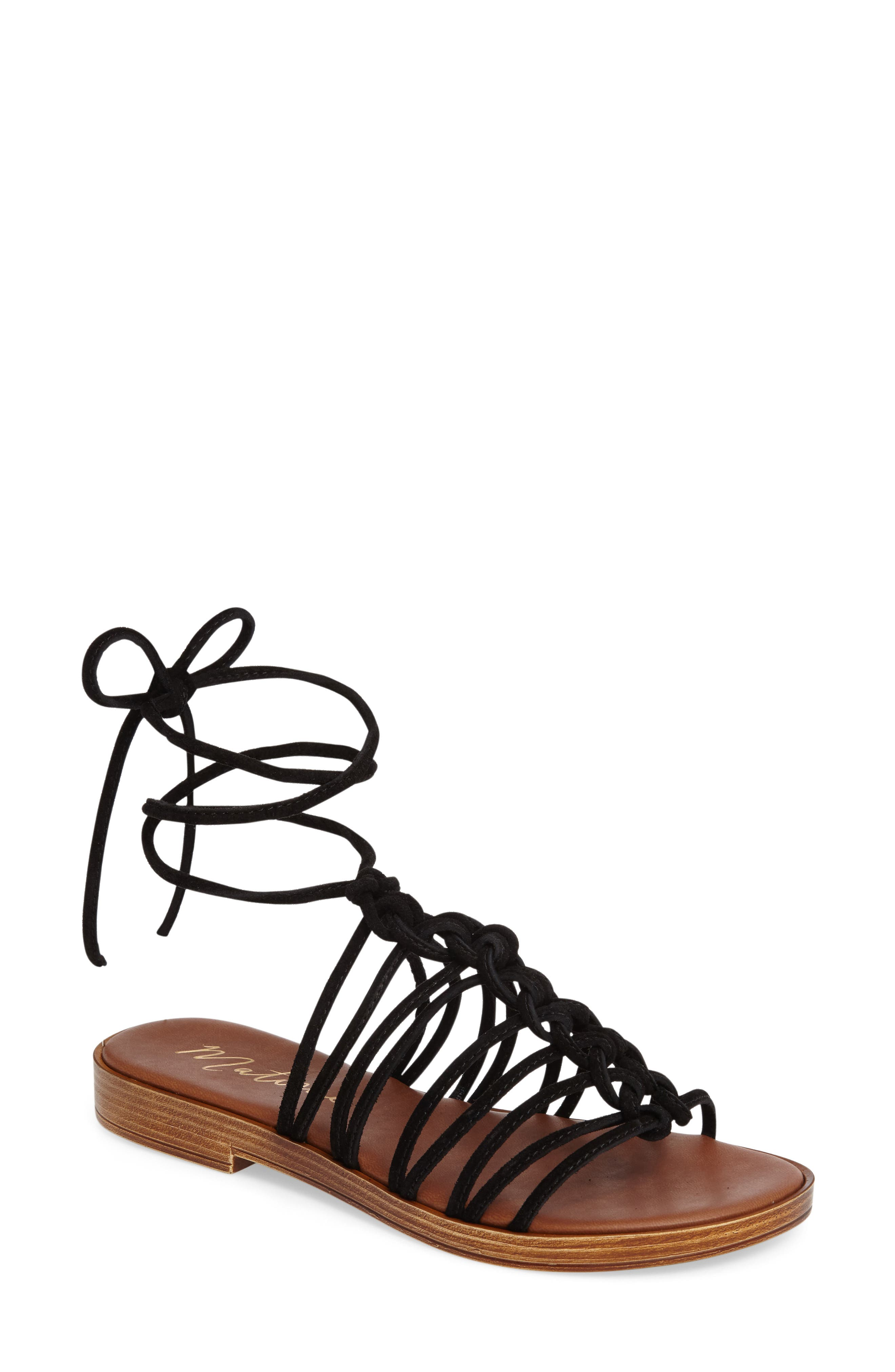 Alternate Image 1 Selected - Matisse Origin Lace-Up Sandal (Women)