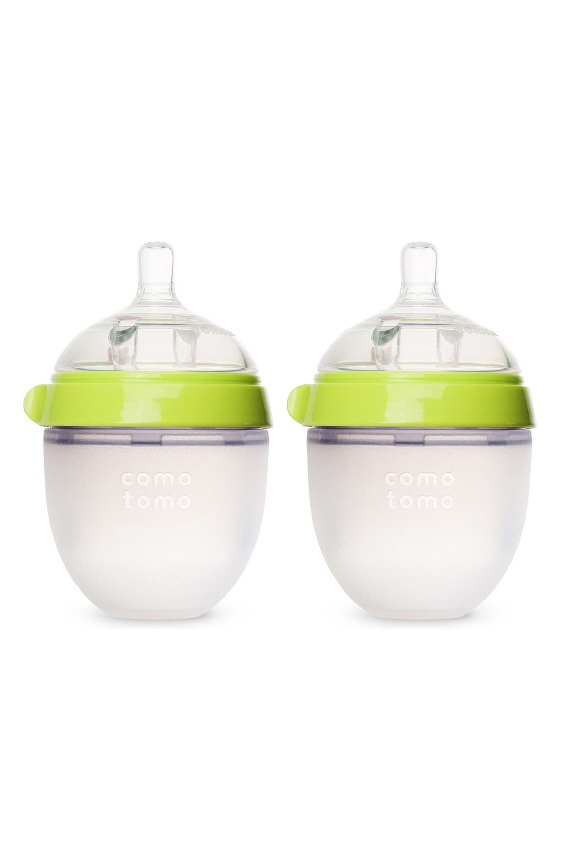 Comotomo Baby Slow Flow Bottles (2-Pack)