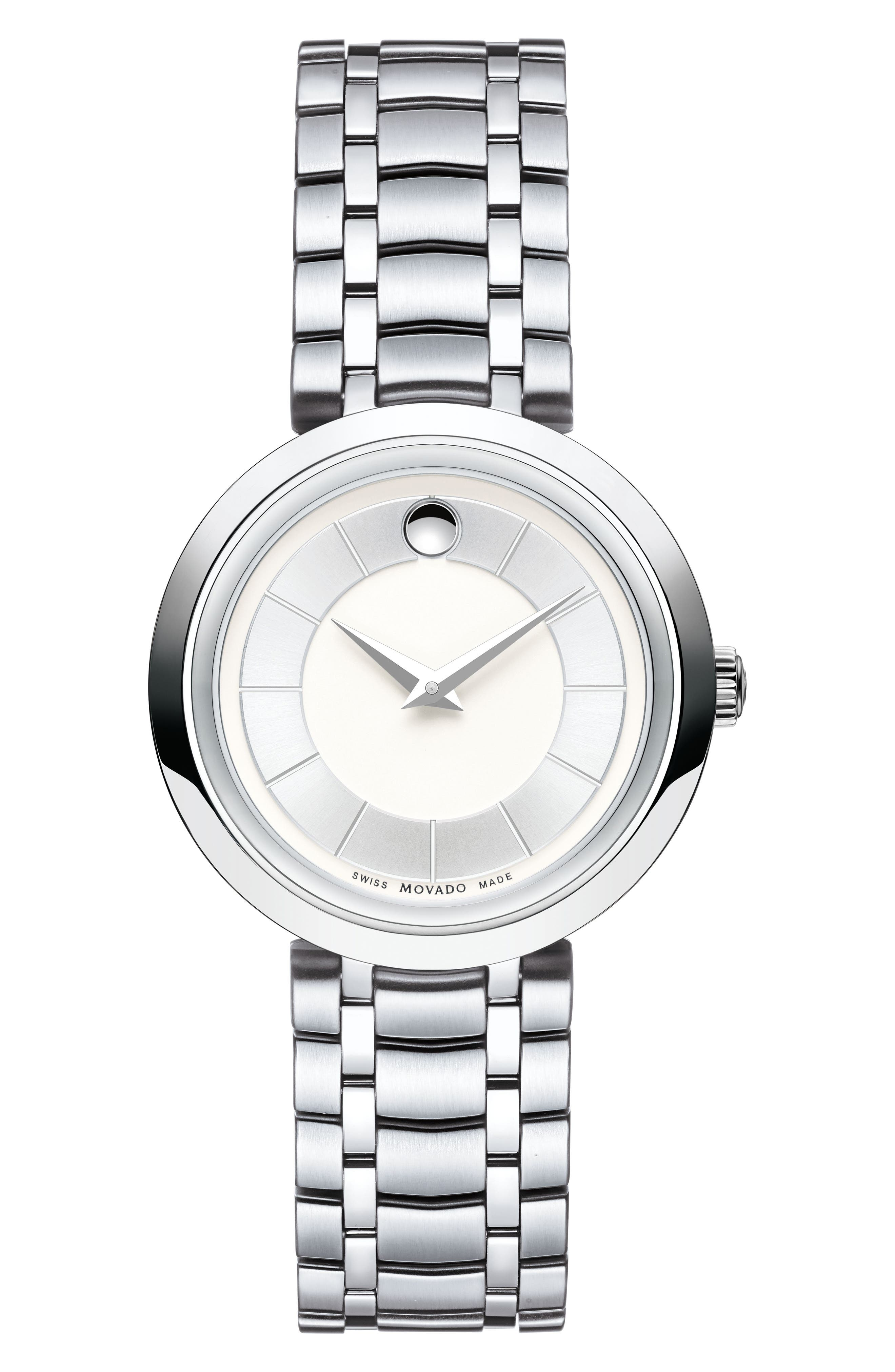 Alternate Image 1 Selected - Movado 1881 Quartz Bracelet Watch, 28mm