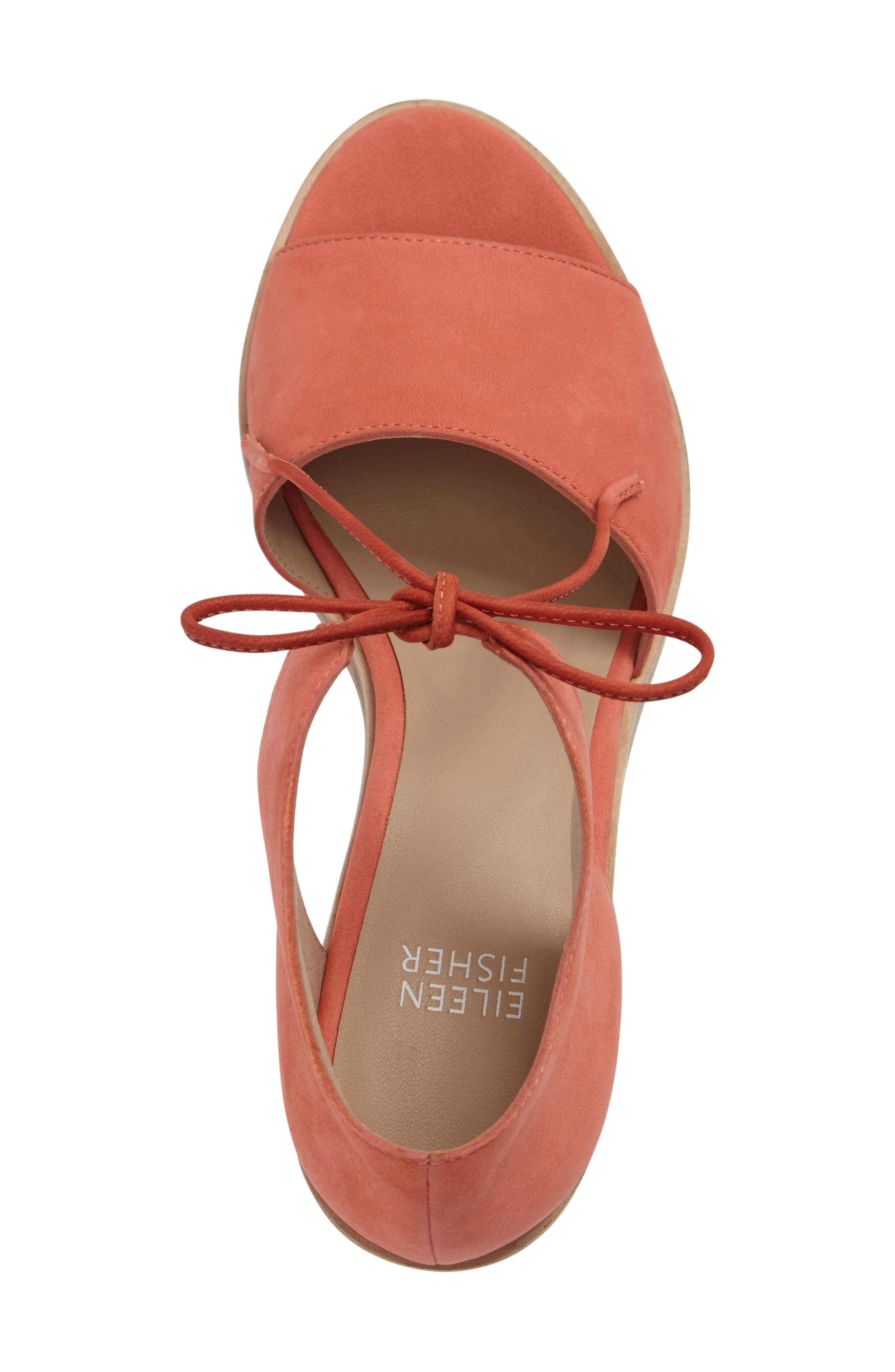 Alternate Image 3  - Eileen Fisher Ann Ankle Tie Sandal (Women)
