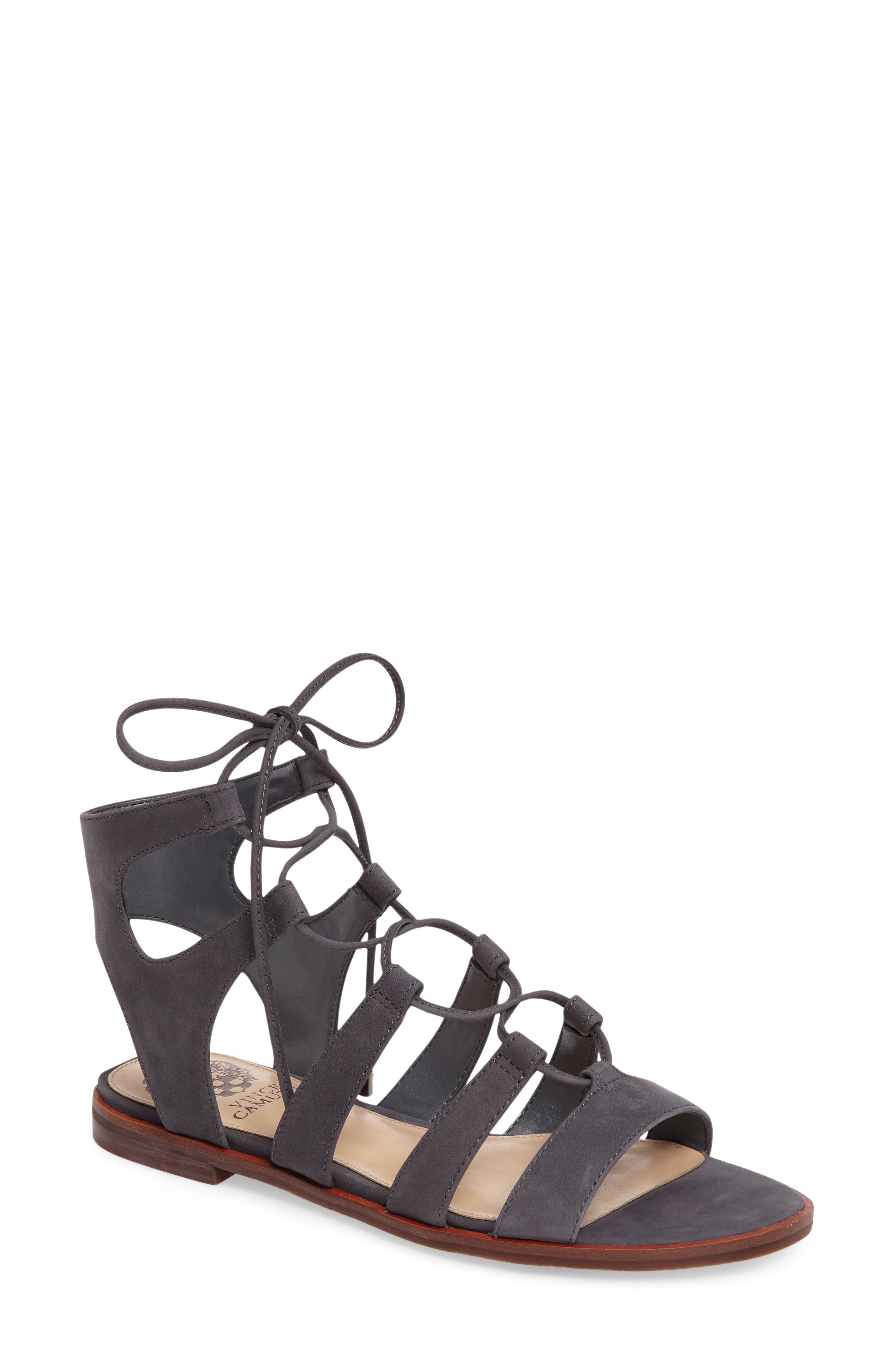 Main Image - Vince Camuto Tany Lace-Up Sandal (Women)