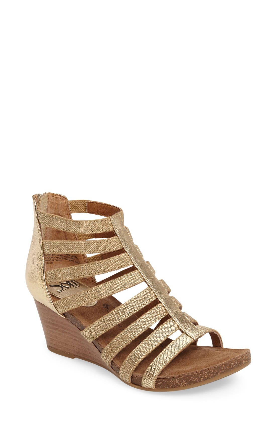 Söfft Mati Caged Wedge Sandal (Women)