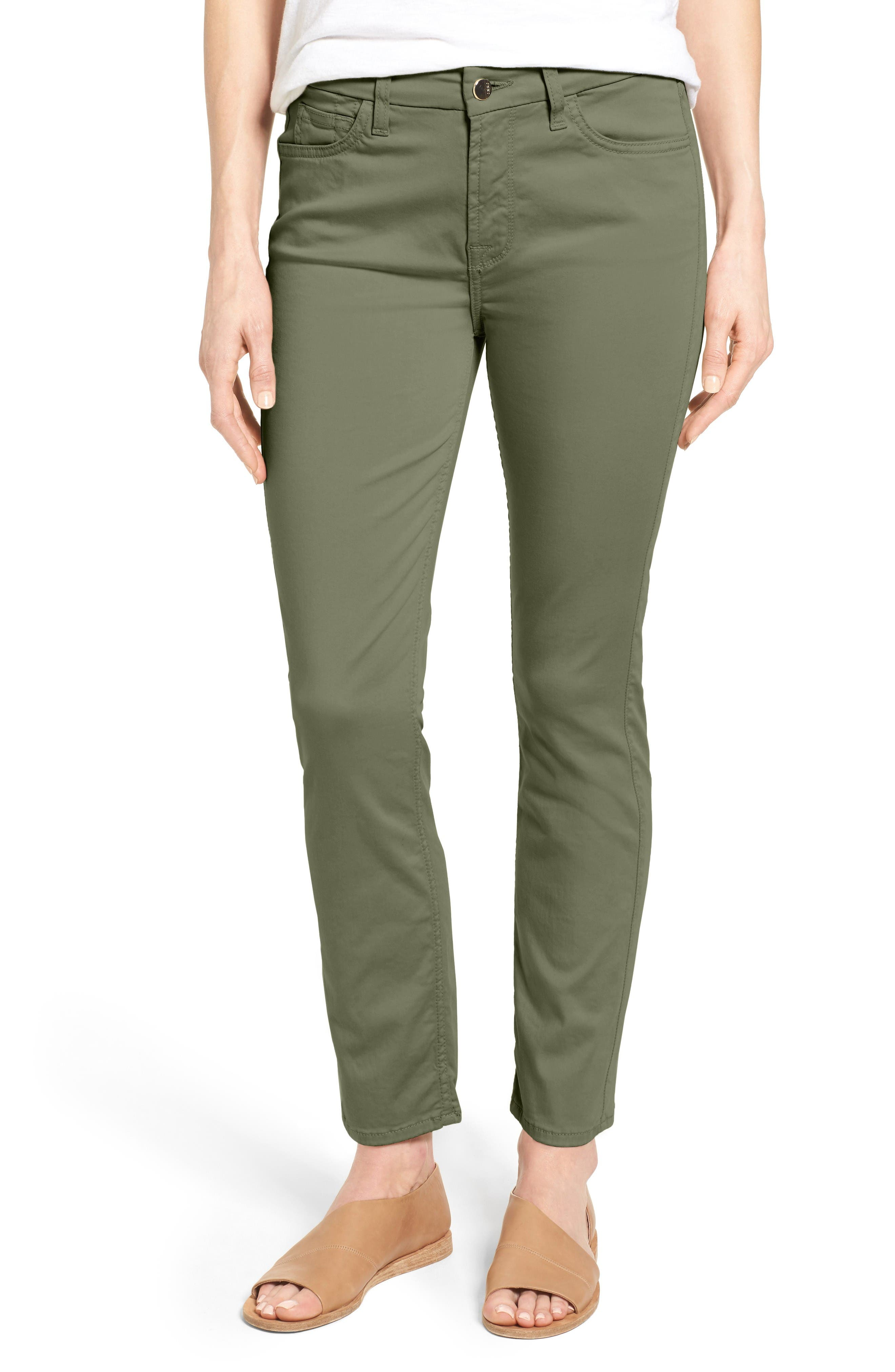 Alternate Image 1 Selected - Jen7 Colored Stretch Ankle Skinny Jeans
