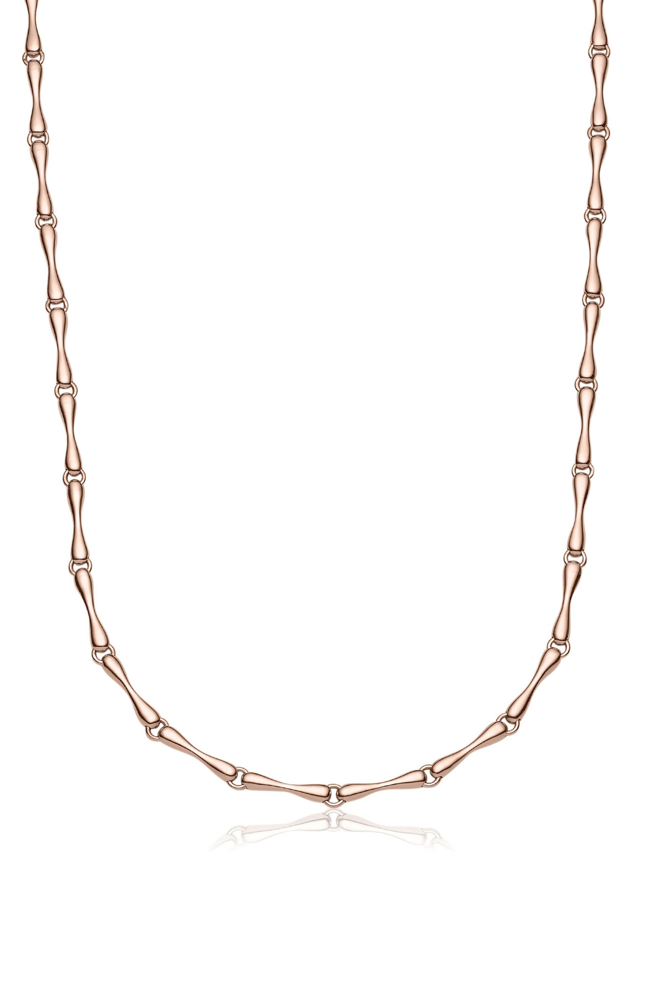 Monica Vinader Nura Reef Chain Necklace