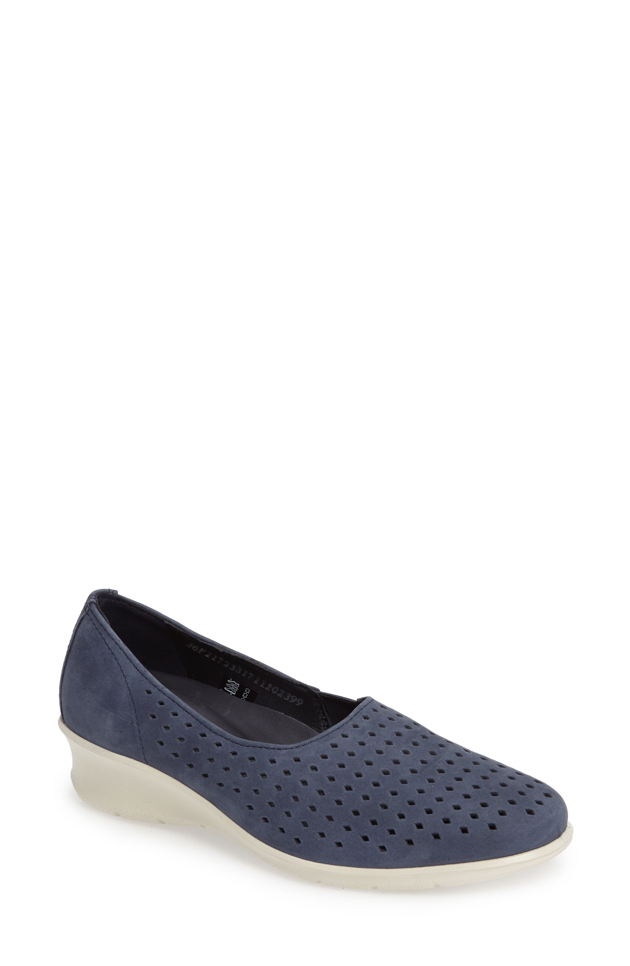 Alternate Image 1 Selected - ECCO Felicia Summer Loafer (Women)
