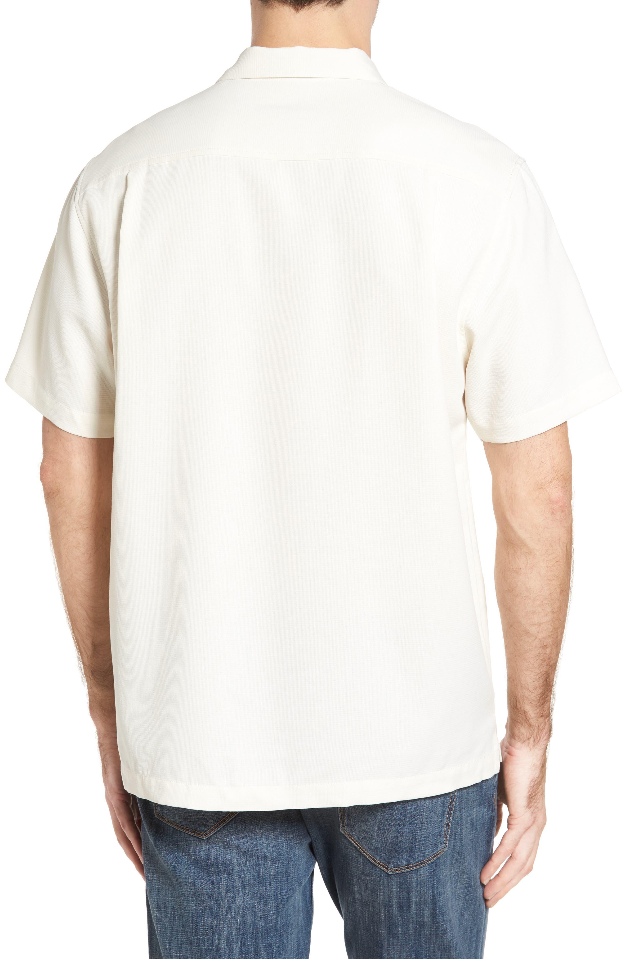 Royal Bermuda Standard Fit Silk Blend Camp Shirt,                             Alternate thumbnail 2, color,                             Continental
