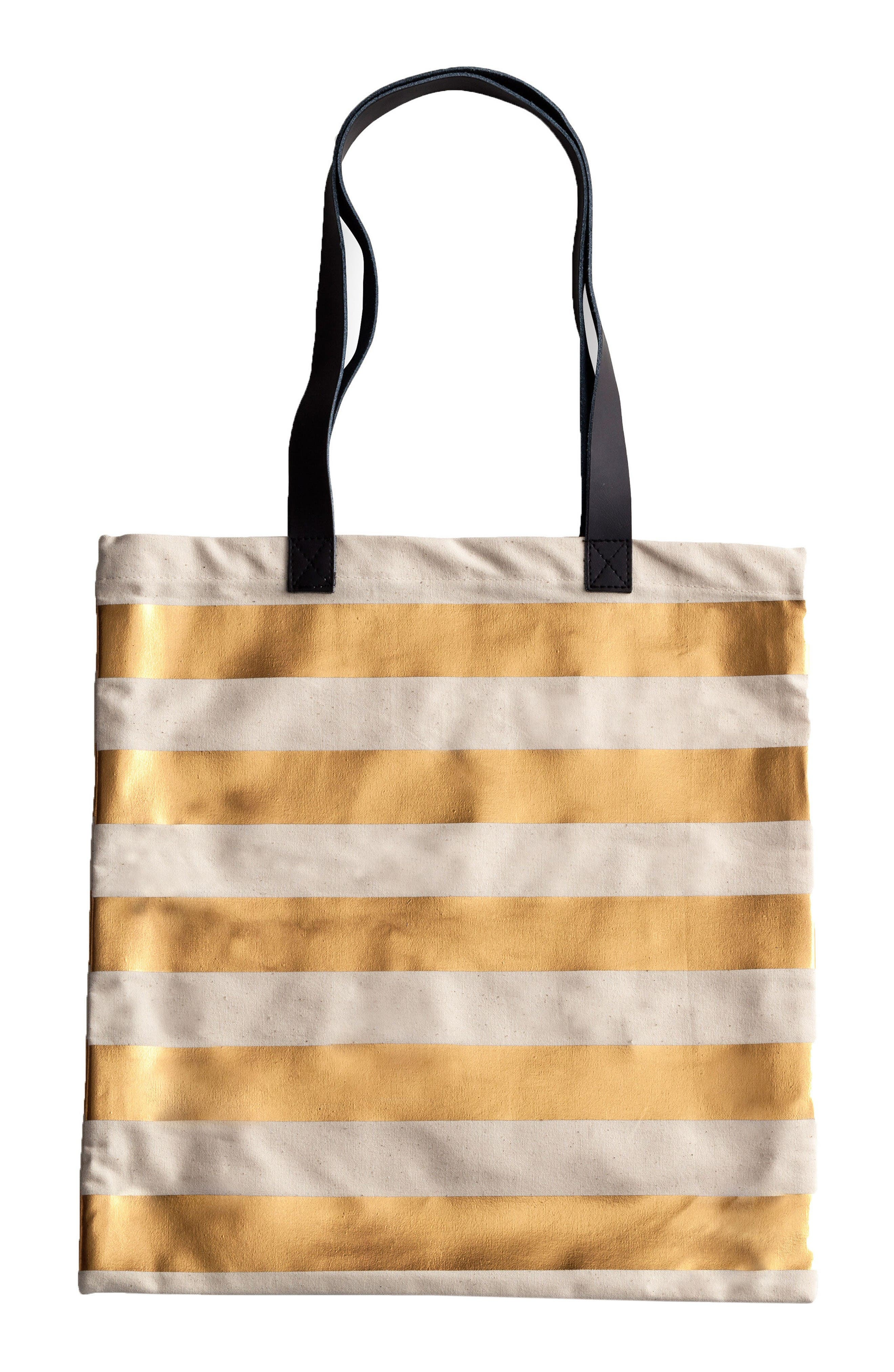 Canvas Tote,                             Main thumbnail 1, color,                             Stripes