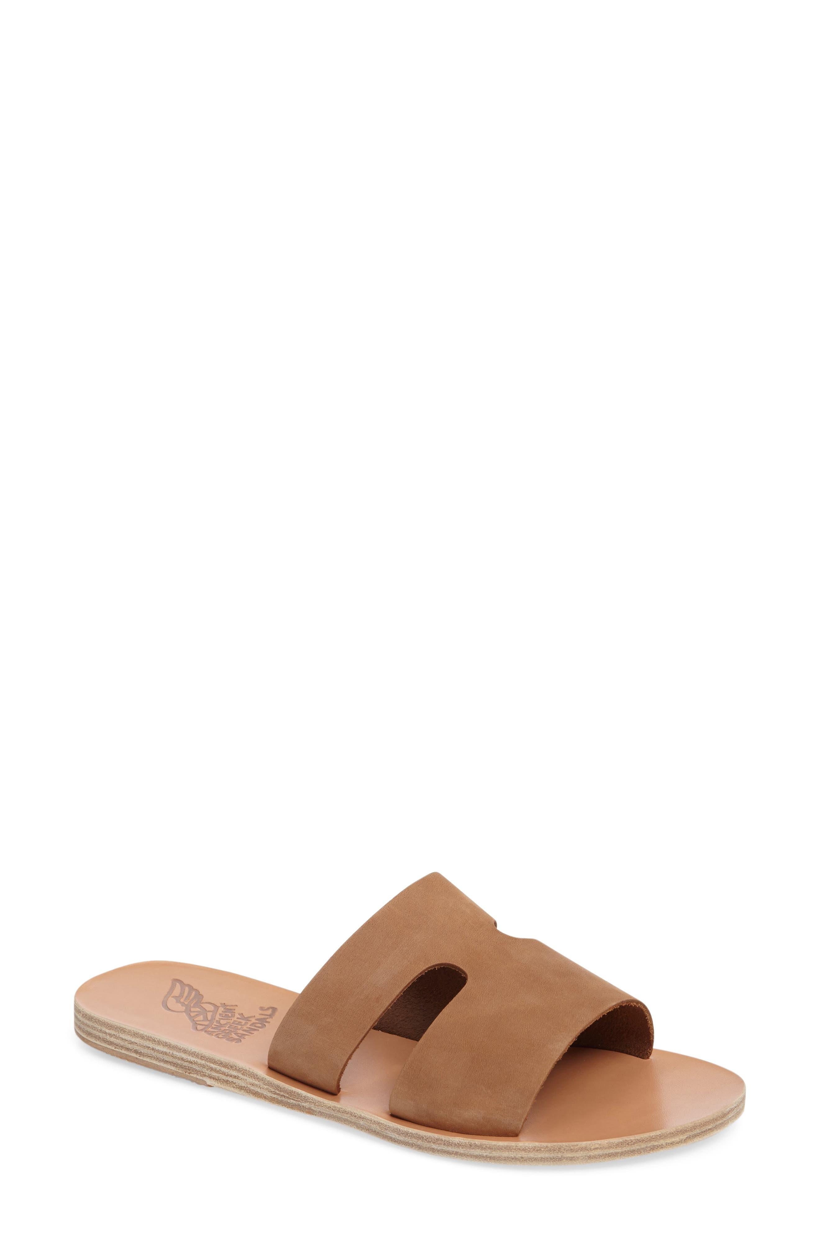 Alternate Image 1 Selected - Ancient Greek Sandals Apteros Slide Sandal (Women)