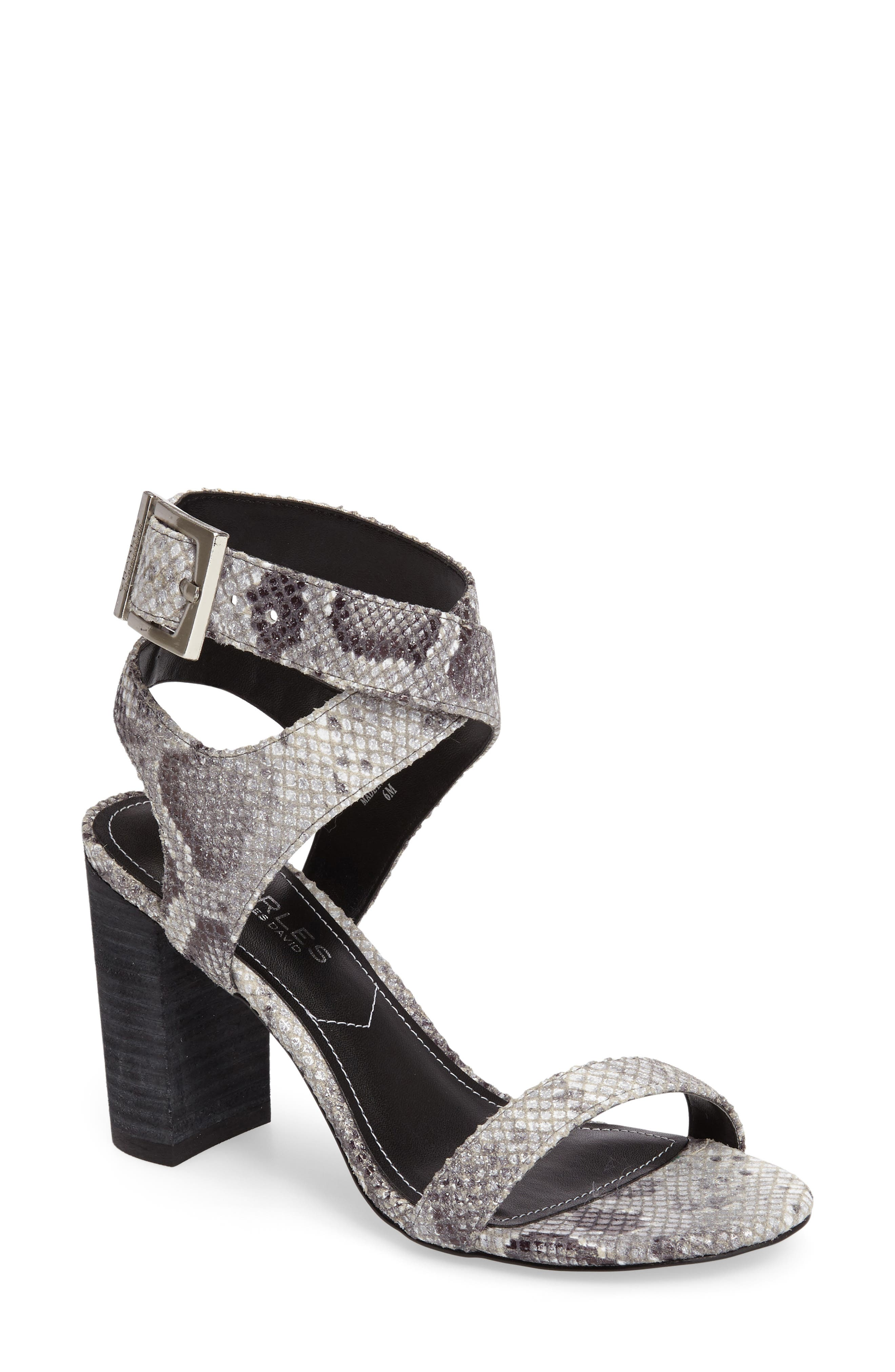Alternate Image 1 Selected - Charles by Charles David Eddie Sandal (Women)