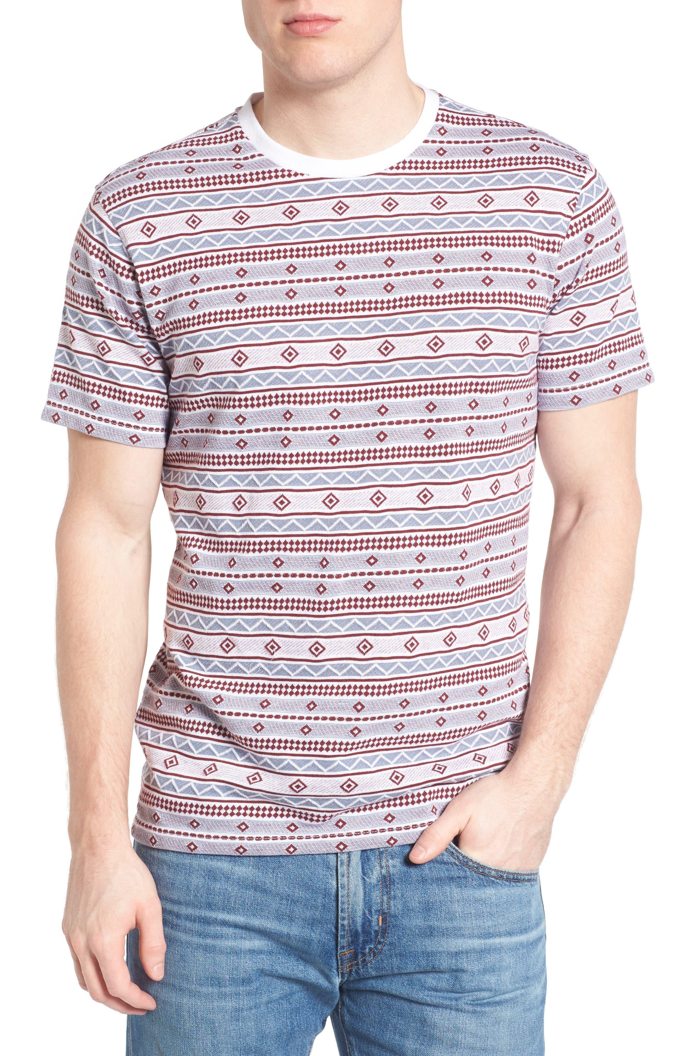 1901 Geo Jacquard T-Shirt