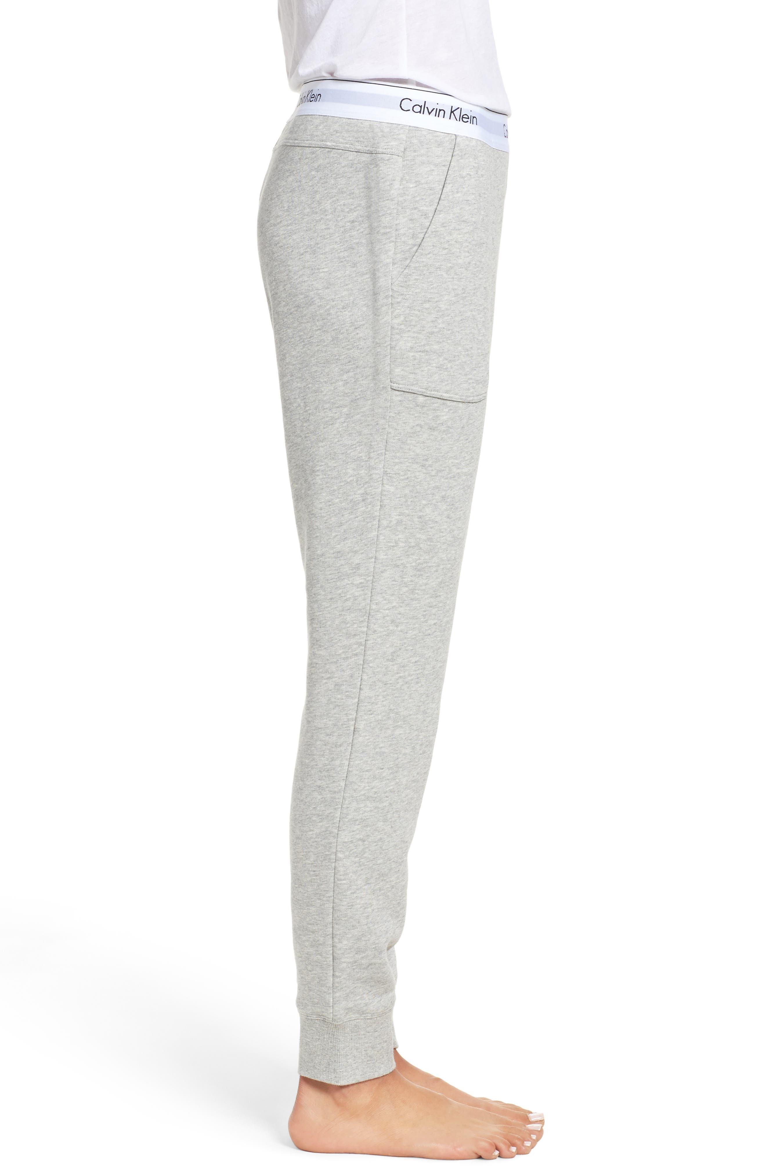 Alternate Image 3  - Calvin Klein Lounge Jogger Pants