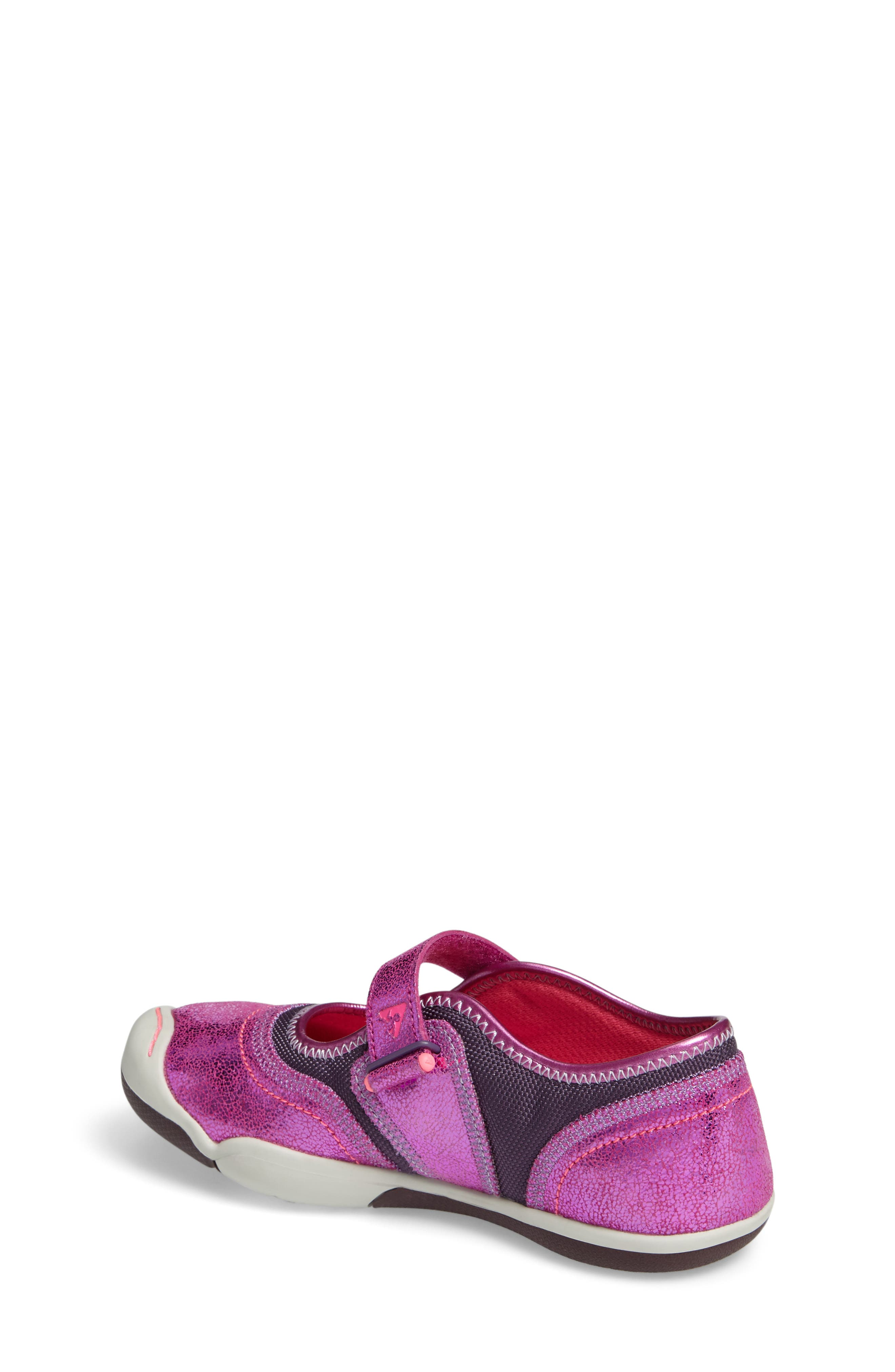 Emme Mary Jane,                             Alternate thumbnail 2, color,                             Viola Metallic Leather