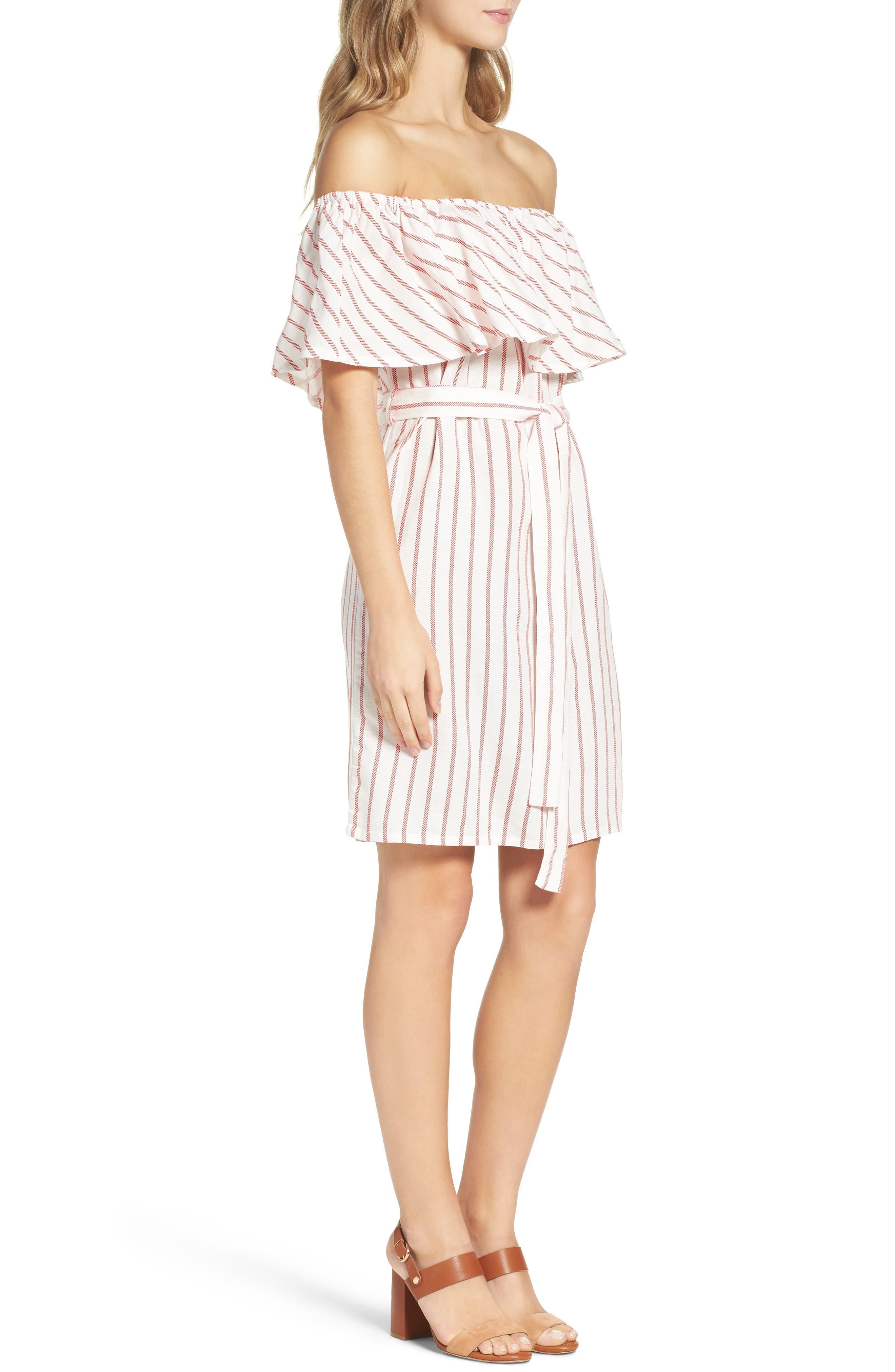 Alternate Image 3  - Bardot Capri Off the Shoulder Dress