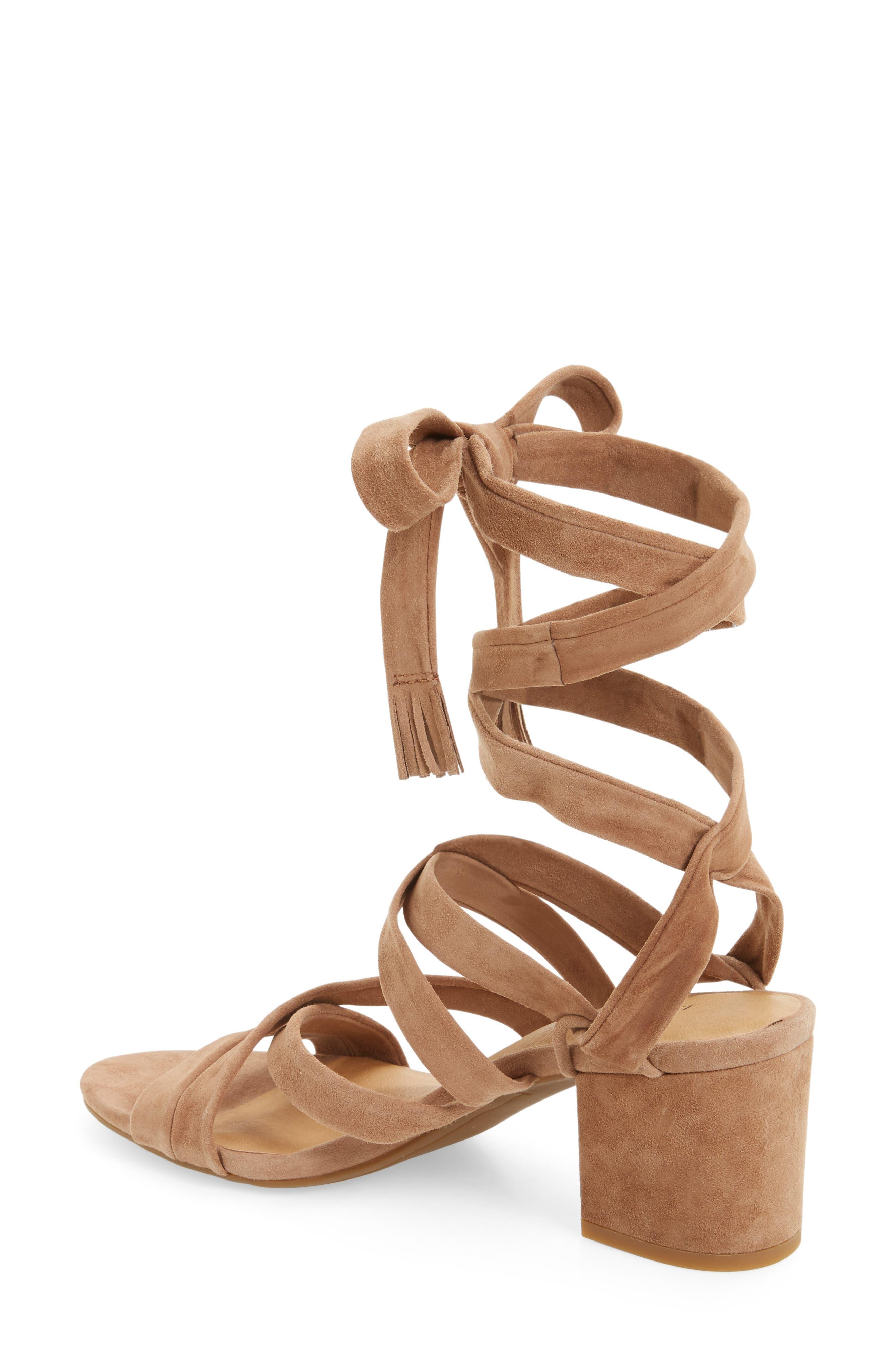 Alternate Image 2  - Lucky Brand Idalina Block Heel Sandal (Women)