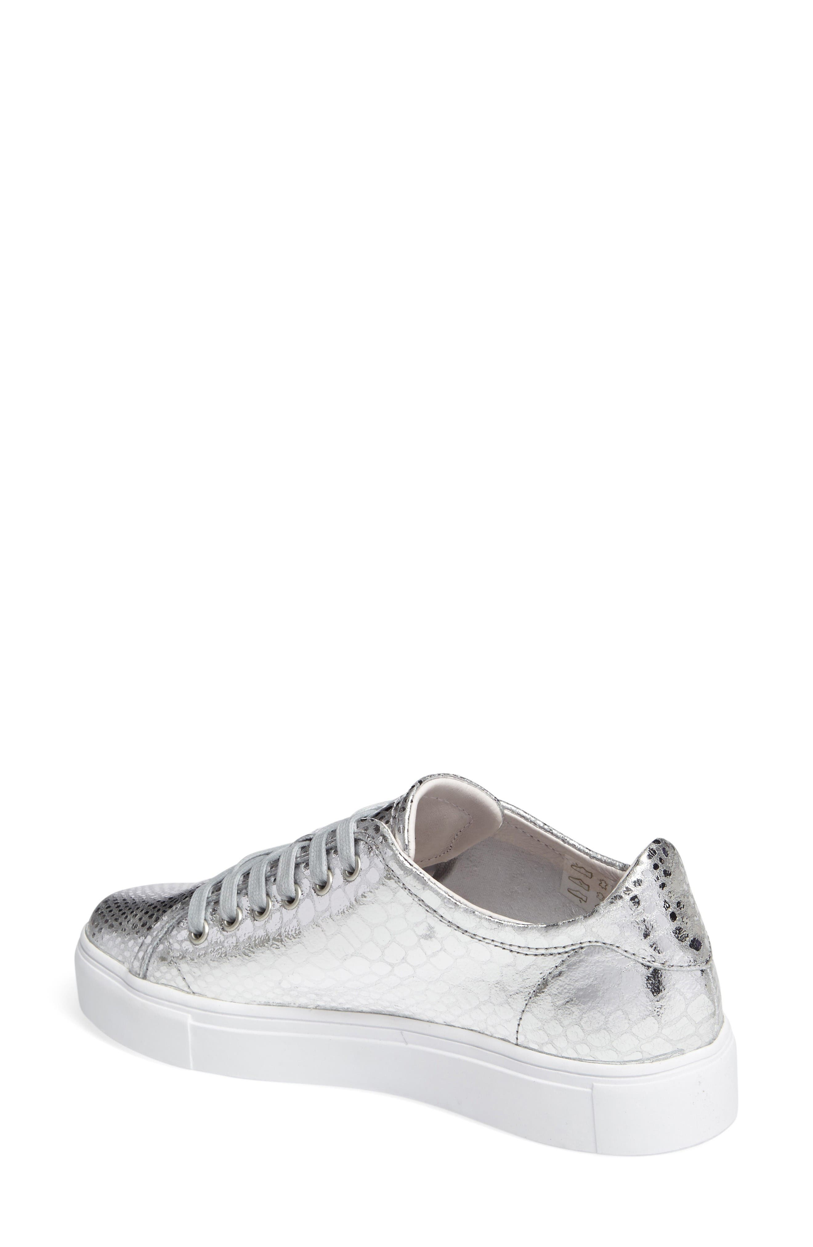 NL32 Sneaker,                             Alternate thumbnail 2, color,                             Silver Leather