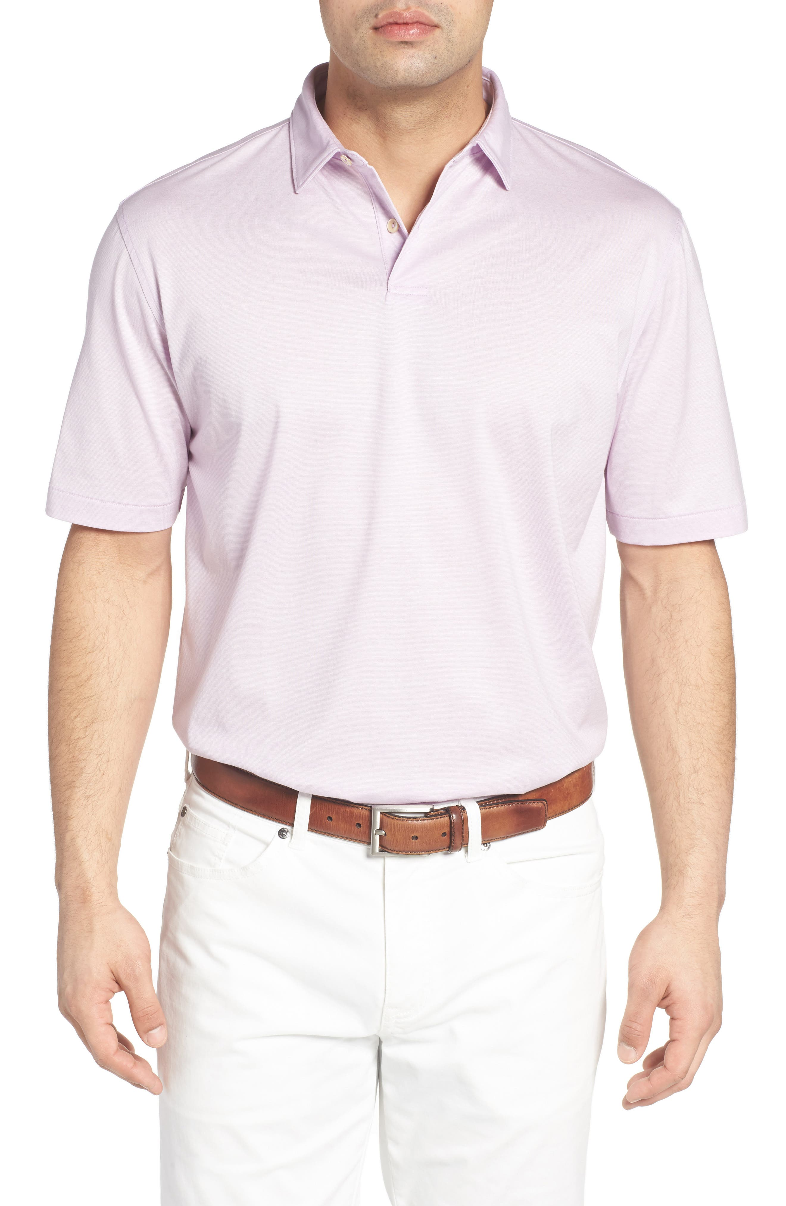 Peter Millar Nanoluxe Golf Polo
