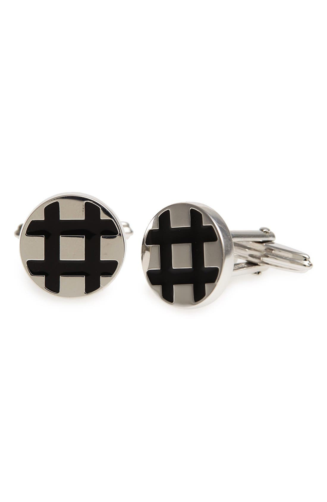 LANVIN Hashtag Cuff Links