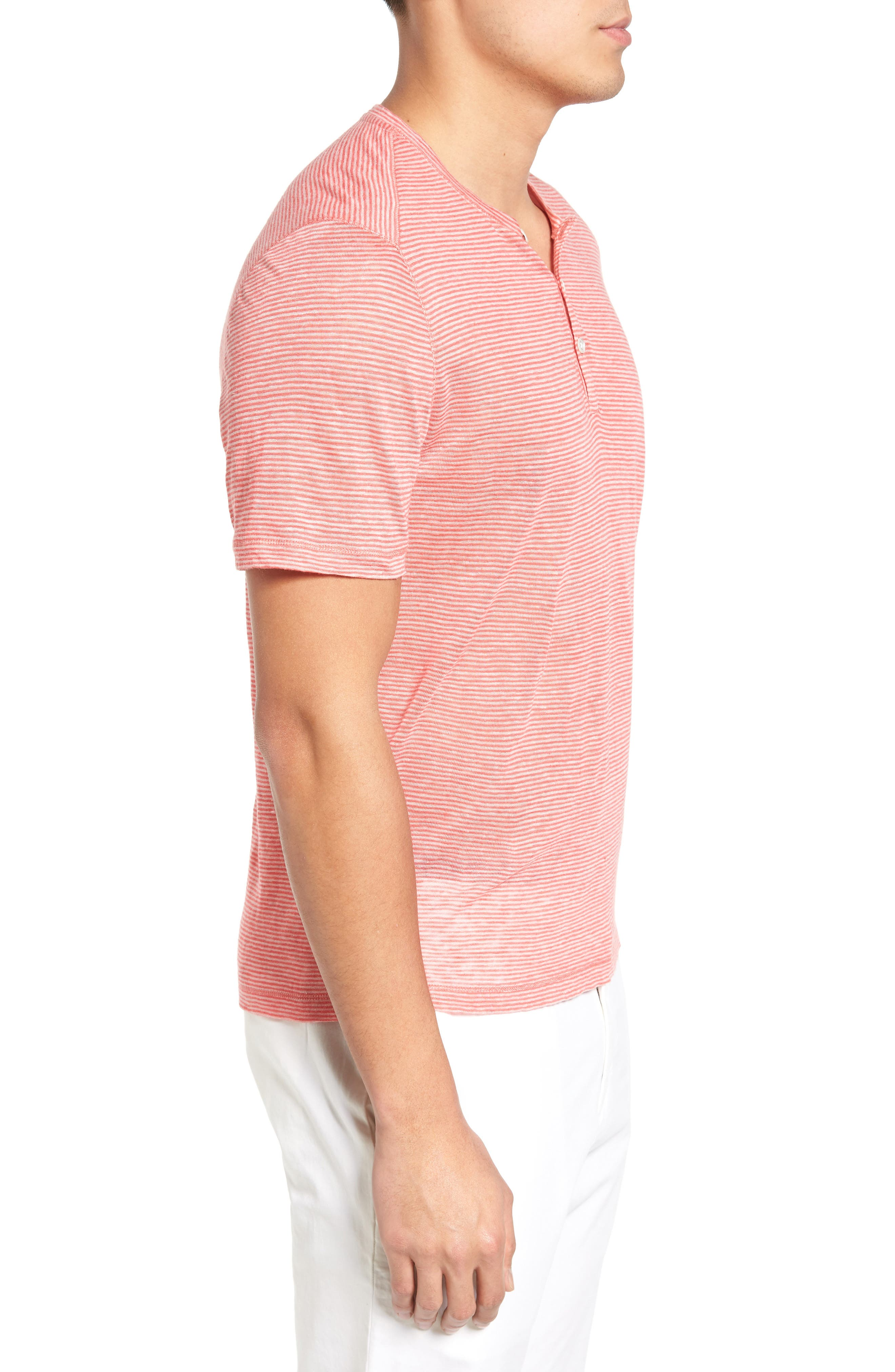 Alternate Image 3  - Zachary Prell Carpel Stripe Linen Knit Henley
